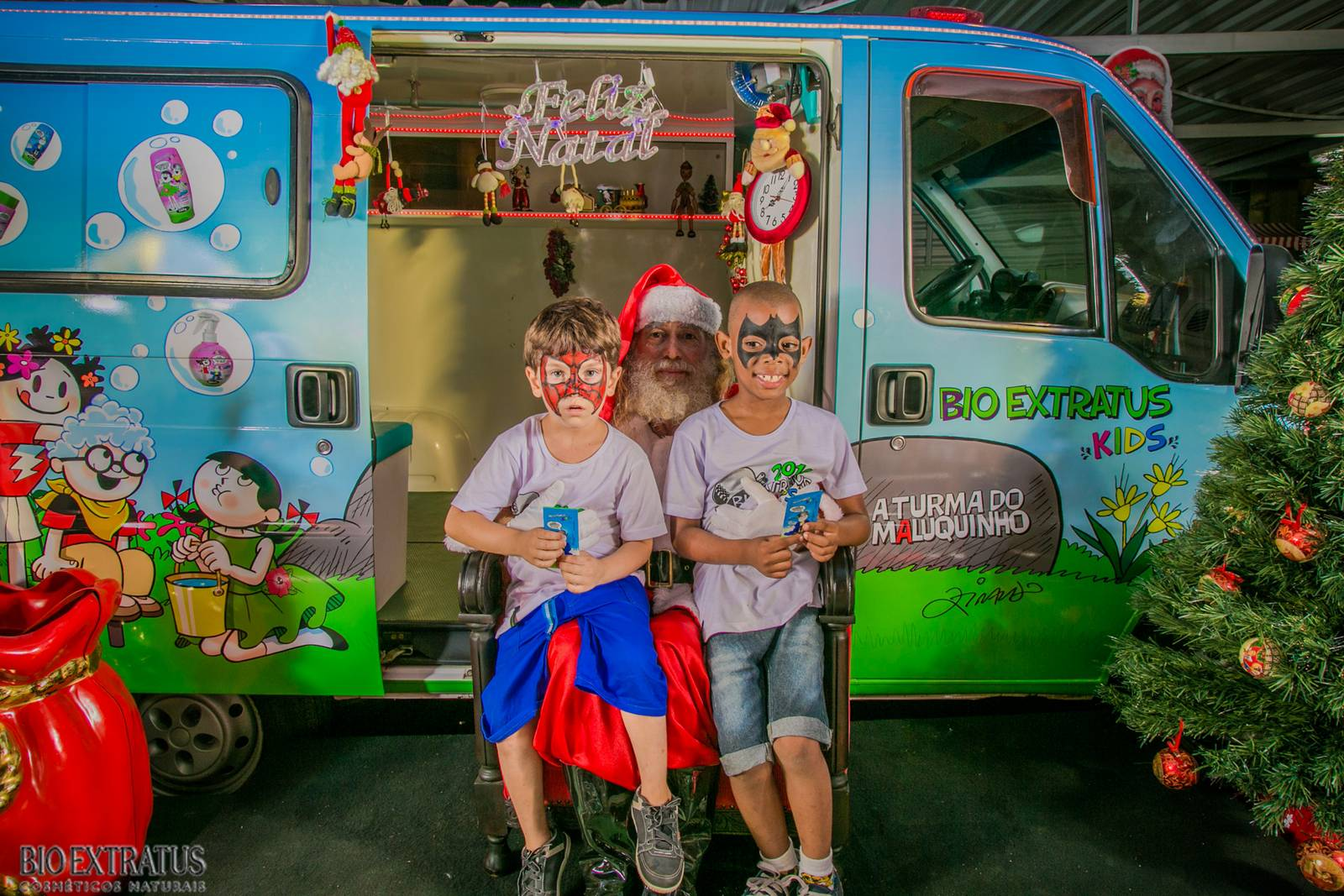 Confraternização de Natal Bio Extratus 2015 para as crianças (5)
