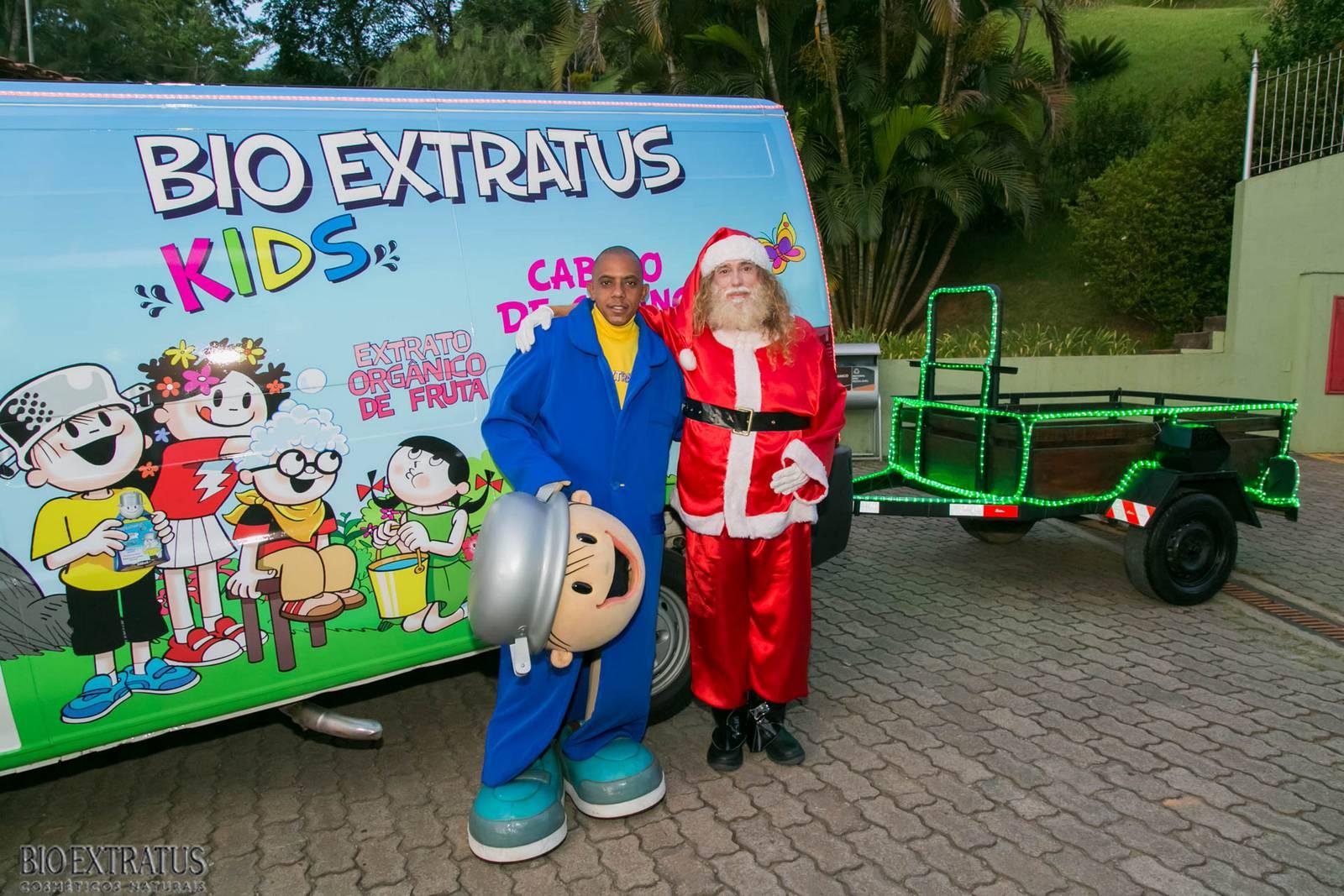Papai Noel na Praça São Sebastião - 2015 - Alvinópolis (1)