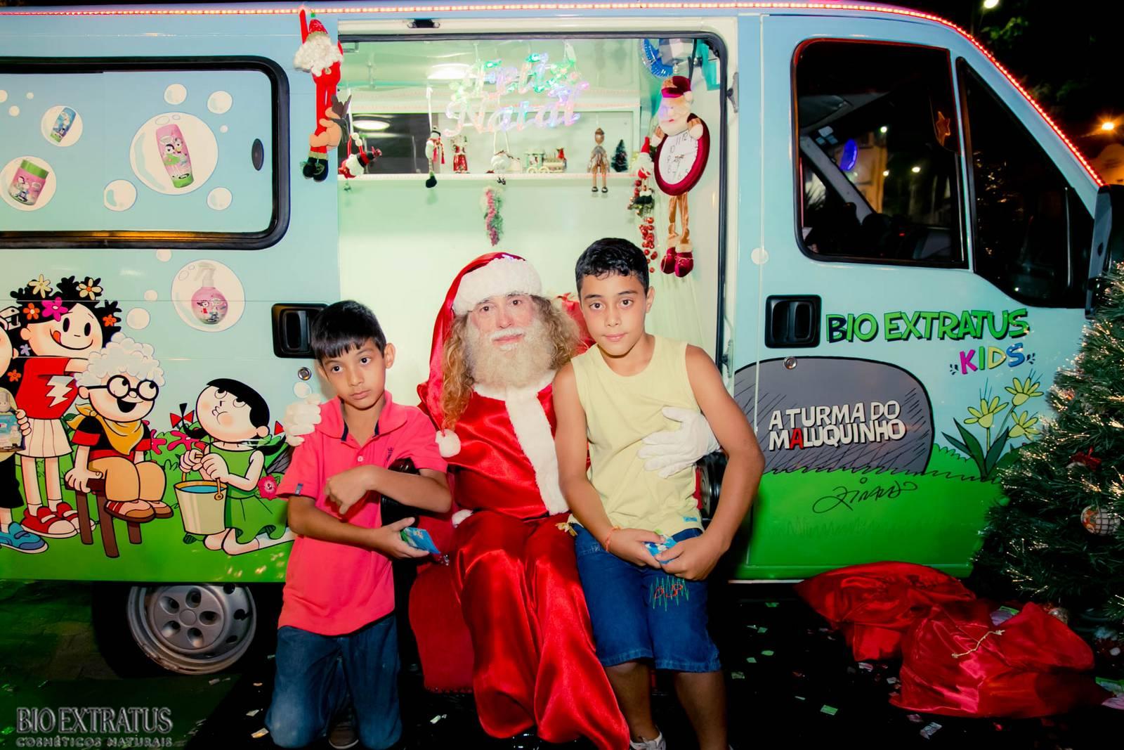 Papai Noel na Praça São Sebastião - 2015 - Alvinópolis (100)