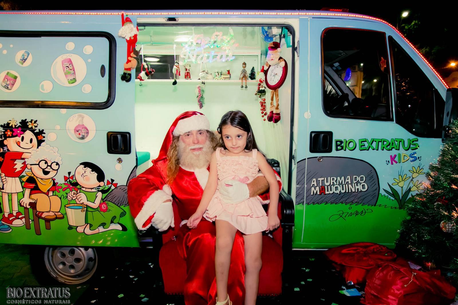 Papai Noel na Praça São Sebastião - 2015 - Alvinópolis (103)