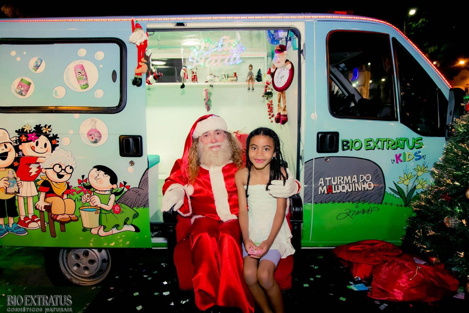 Papai Noel na Praça São Sebastião - 2015 - Alvinópolis (105)