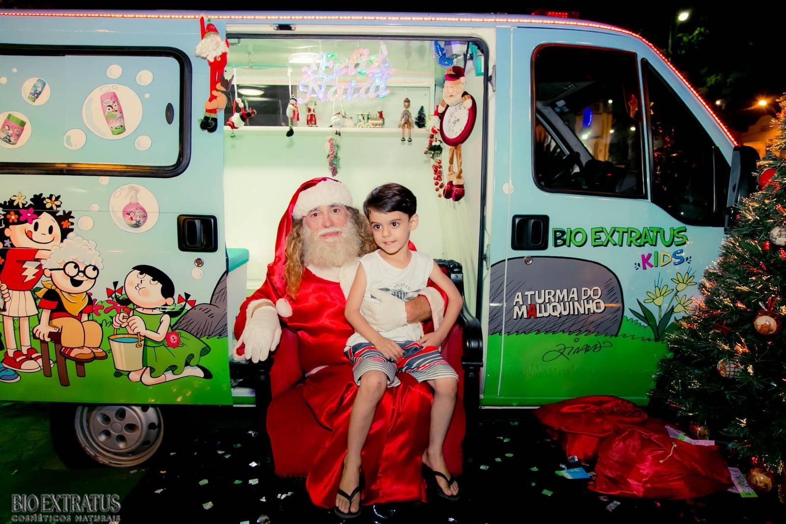 Papai Noel na Praça São Sebastião - 2015 - Alvinópolis (108)