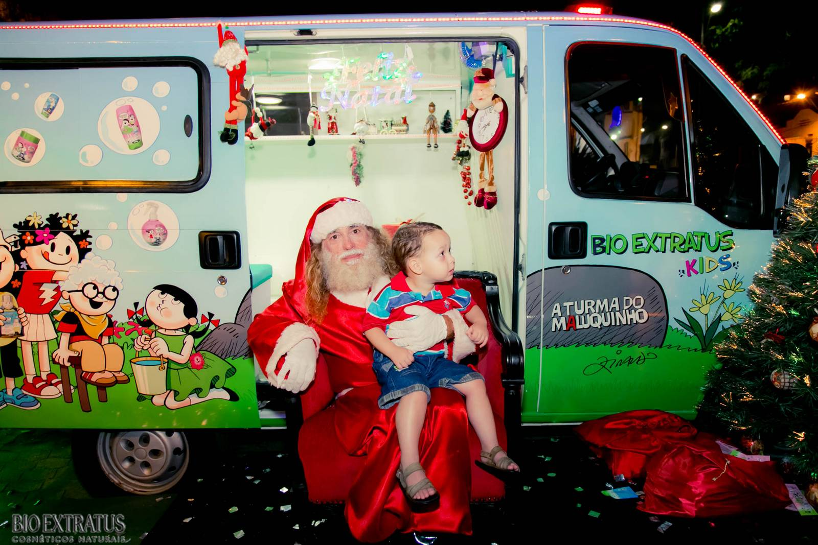 Papai Noel na Praça São Sebastião - 2015 - Alvinópolis (109)