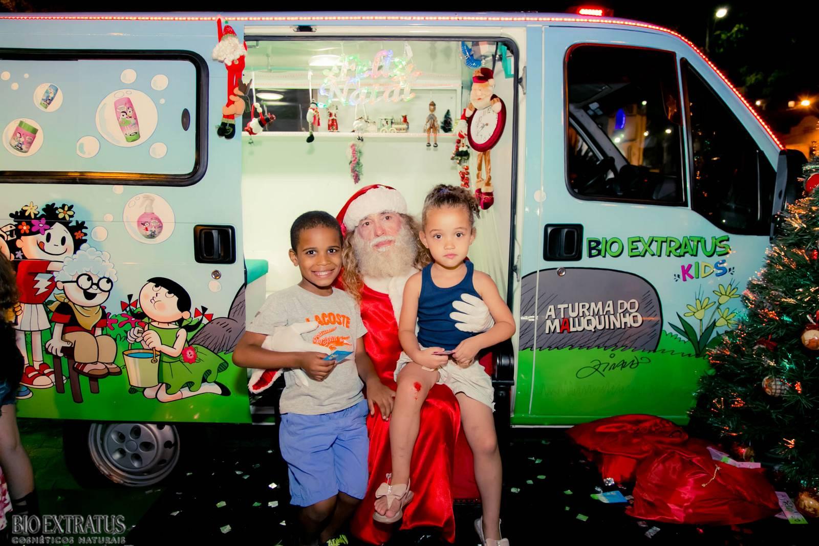 Papai Noel na Praça São Sebastião - 2015 - Alvinópolis (113)