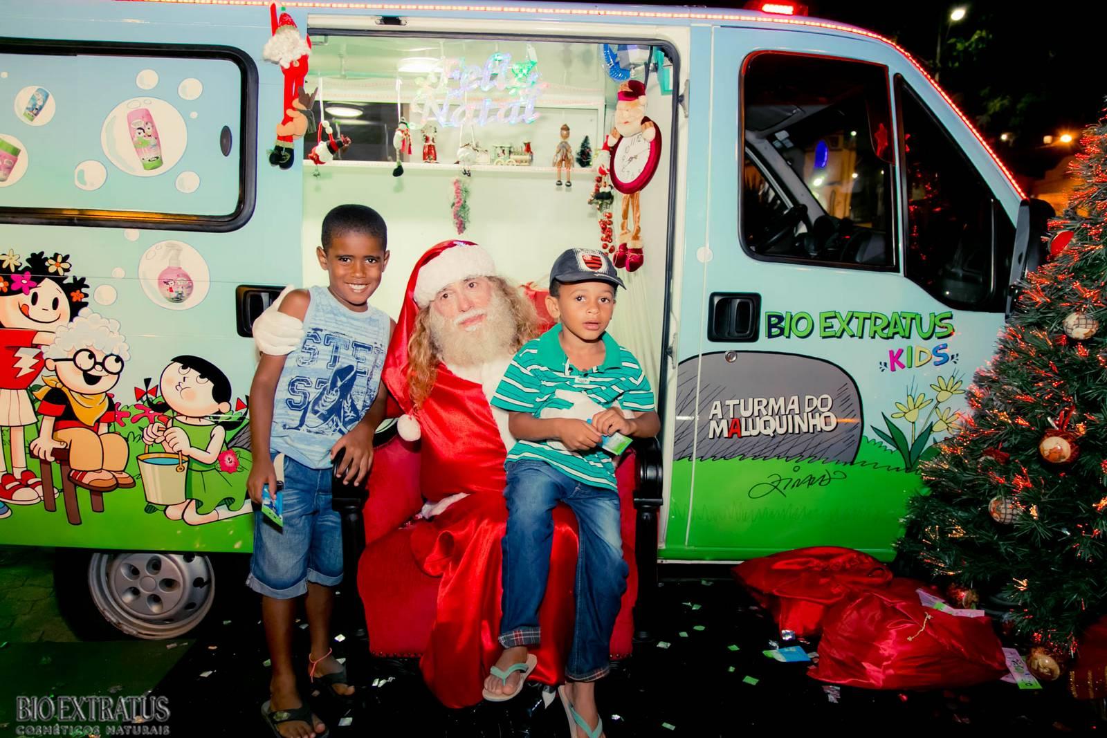 Papai Noel na Praça São Sebastião - 2015 - Alvinópolis (114)