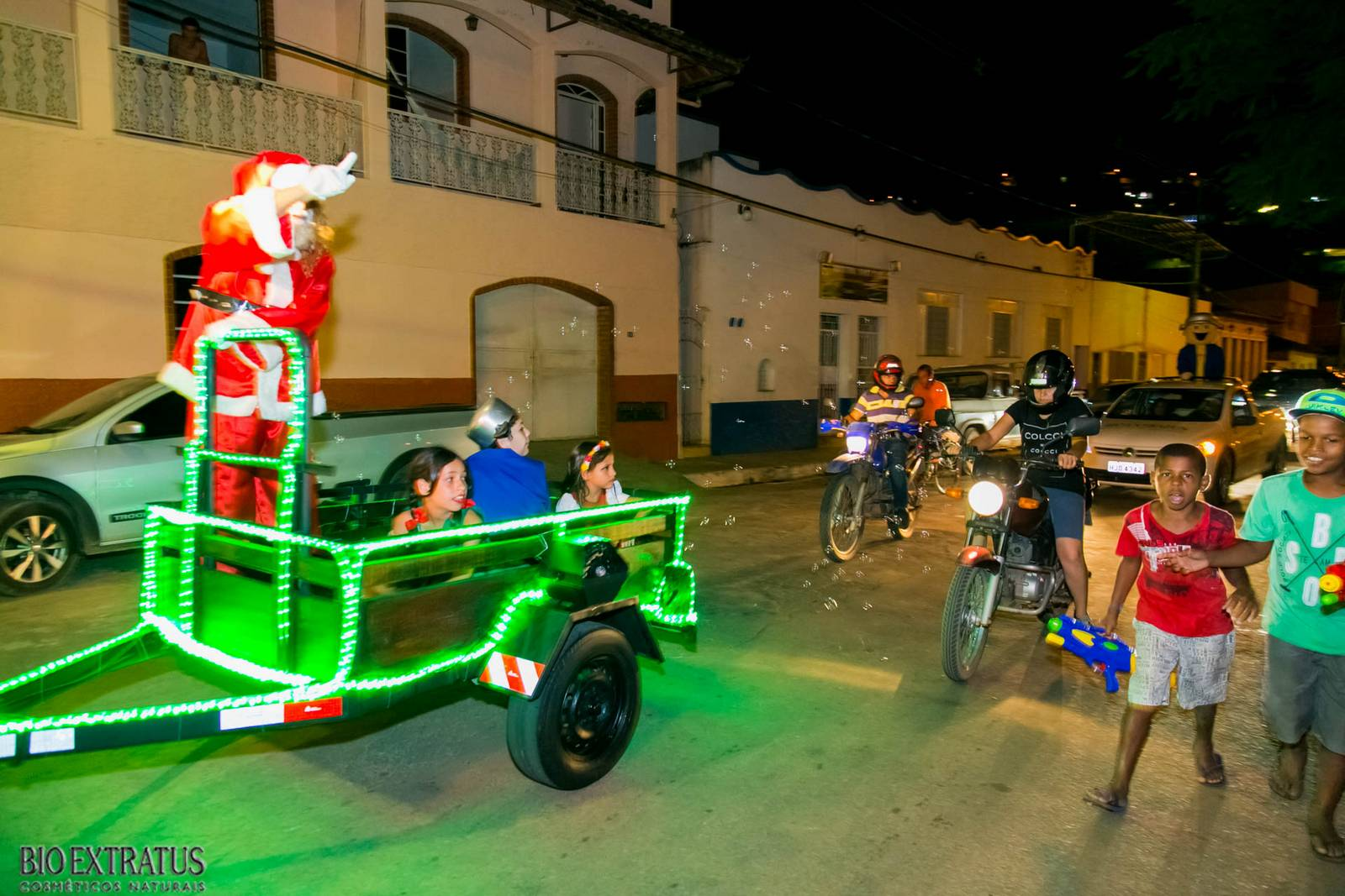 Papai Noel na Praça São Sebastião - 2015 - Alvinópolis (12)
