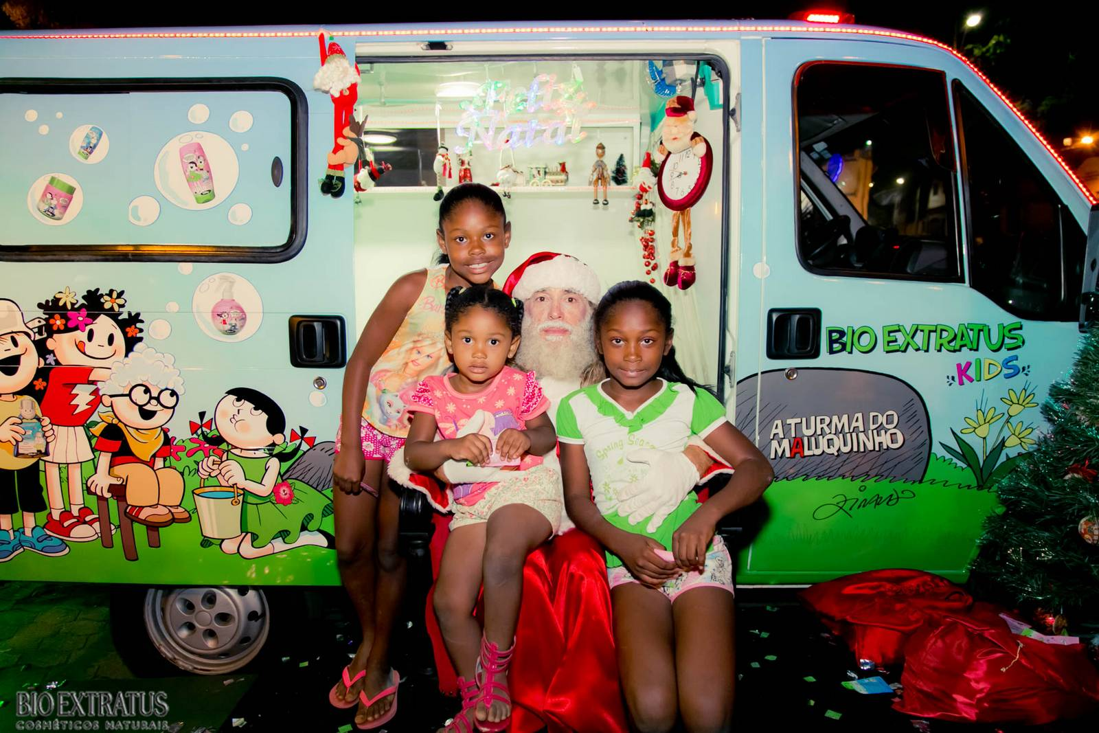 Papai Noel na Praça São Sebastião - 2015 - Alvinópolis (120)