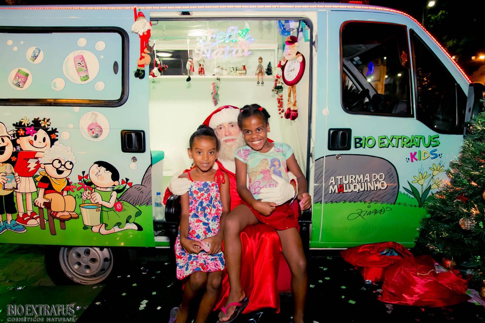 Papai Noel na Praça São Sebastião - 2015 - Alvinópolis (122)