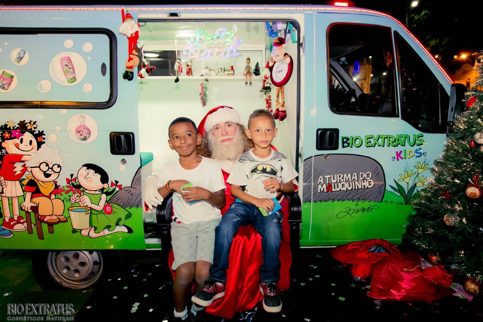 Papai Noel na Praça São Sebastião - 2015 - Alvinópolis (123)