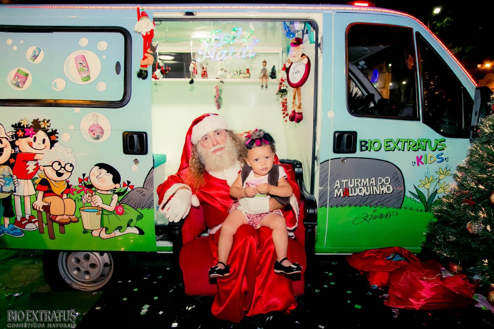 Papai Noel na Praça São Sebastião - 2015 - Alvinópolis (124)