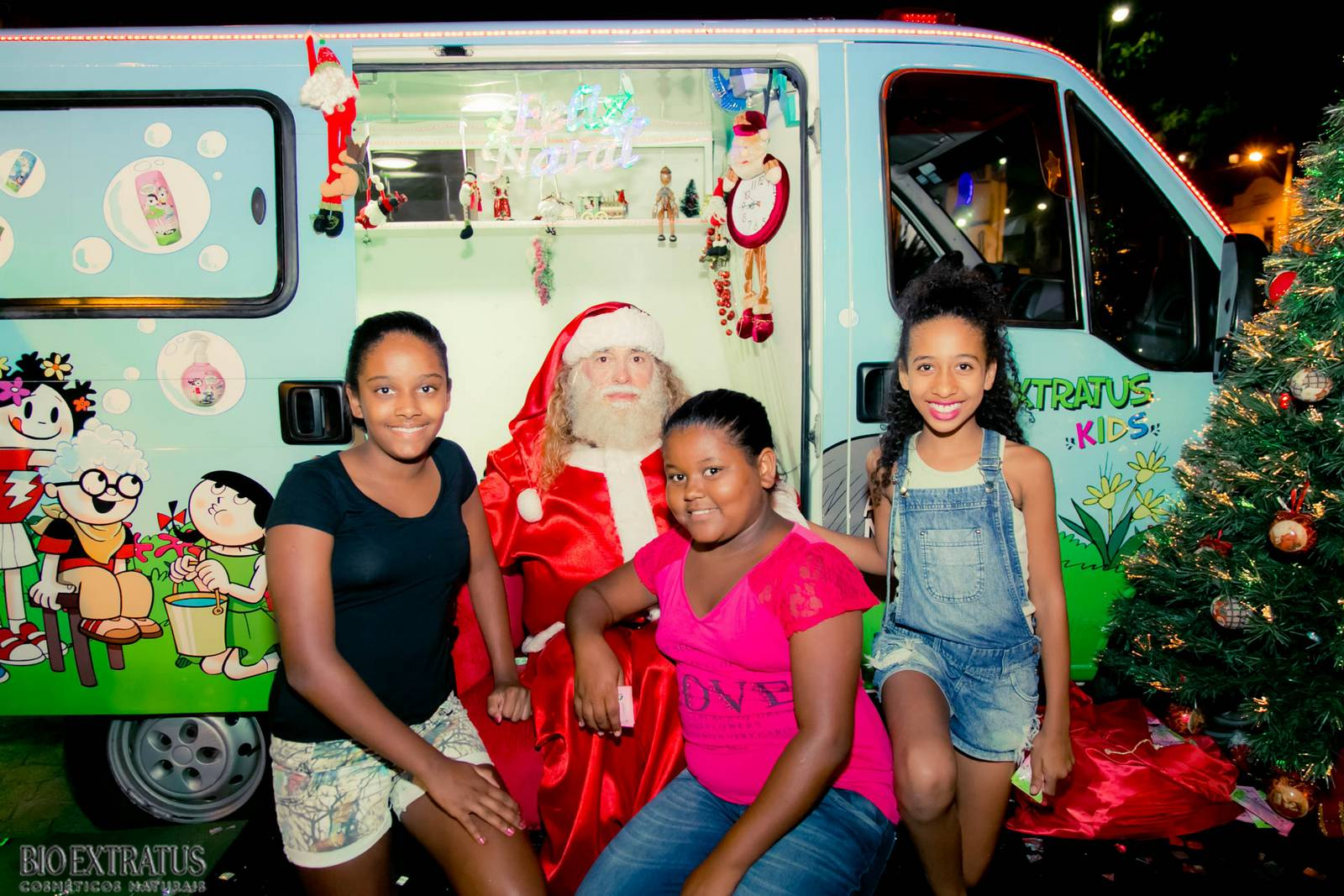 Papai Noel na Praça São Sebastião - 2015 - Alvinópolis (125)