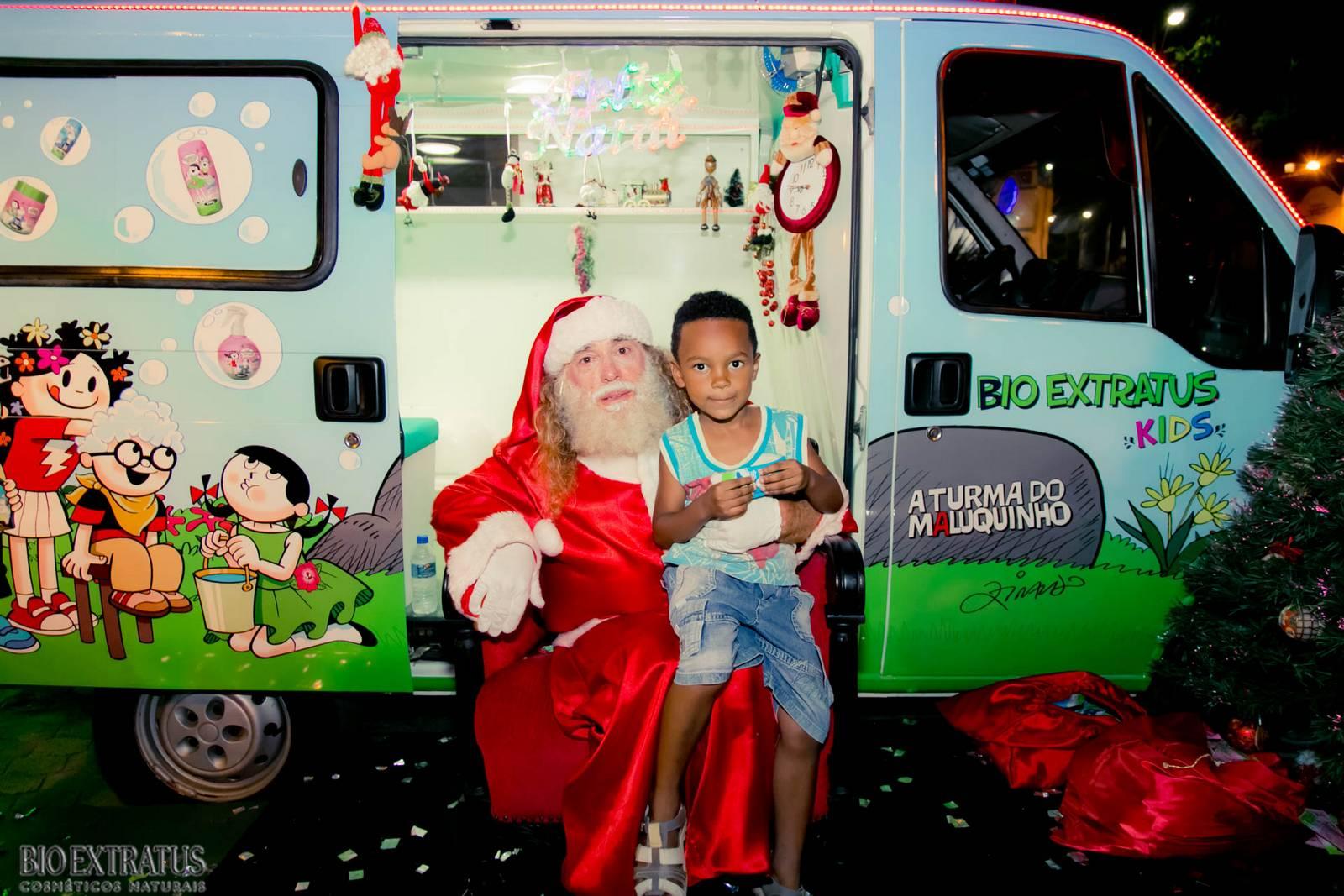 Papai Noel na Praça São Sebastião - 2015 - Alvinópolis (127)