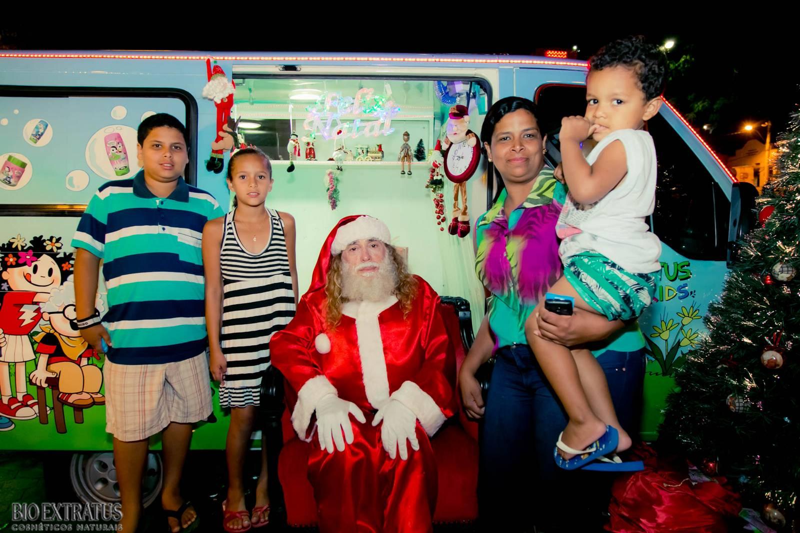 Papai Noel na Praça São Sebastião - 2015 - Alvinópolis (130)