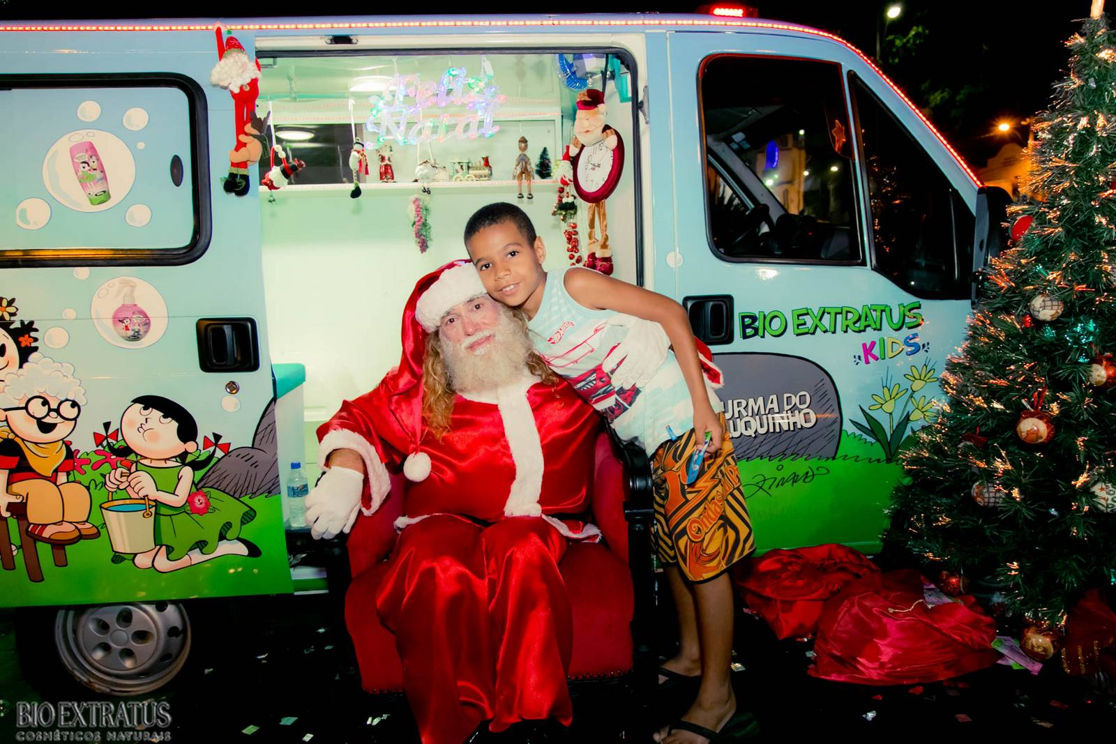 Papai Noel na Praça São Sebastião - 2015 - Alvinópolis (131)