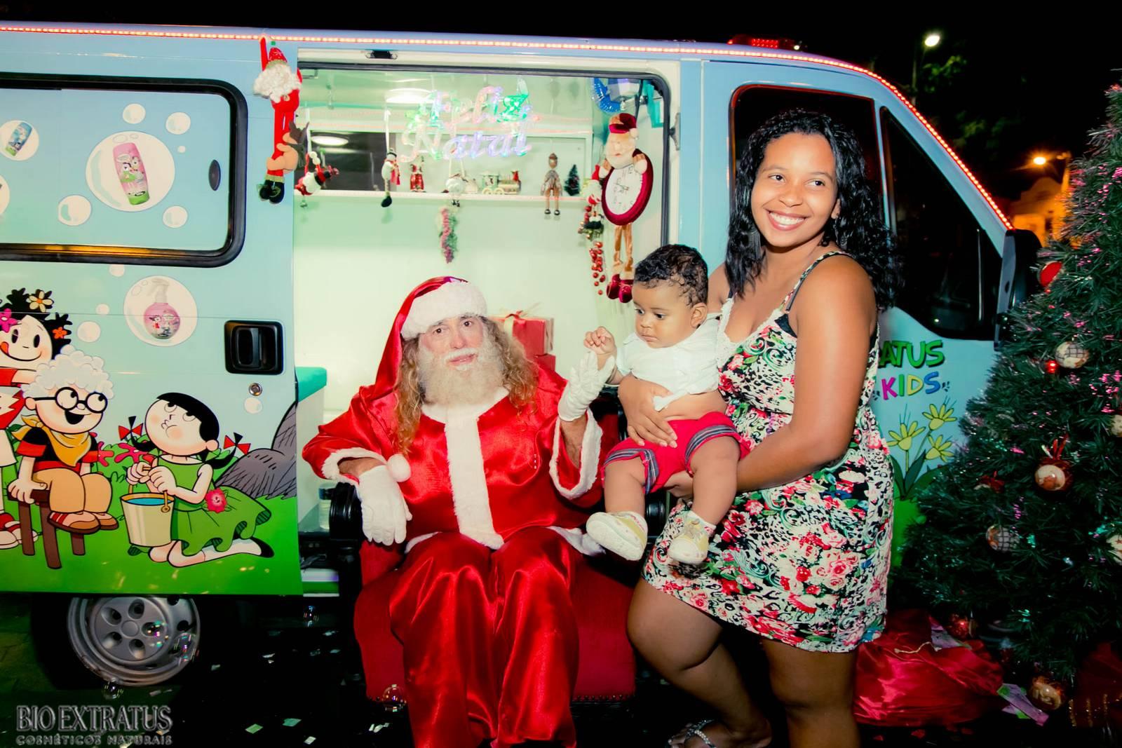 Papai Noel na Praça São Sebastião - 2015 - Alvinópolis (132)