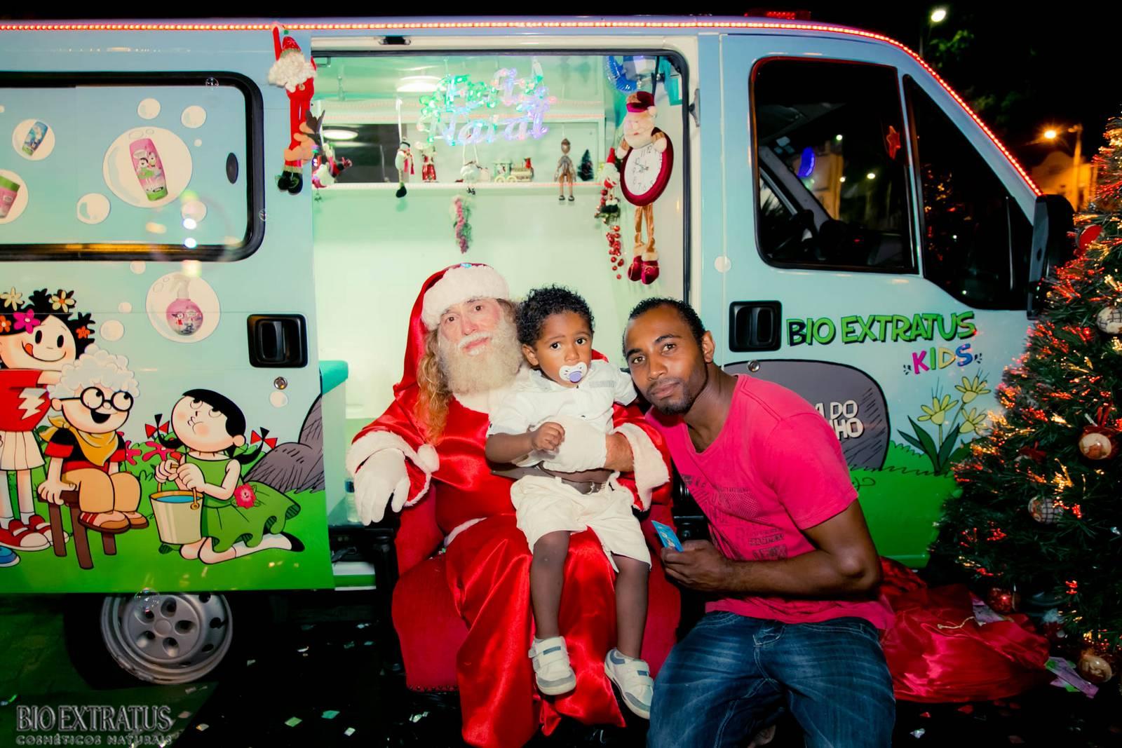 Papai Noel na Praça São Sebastião - 2015 - Alvinópolis (133)