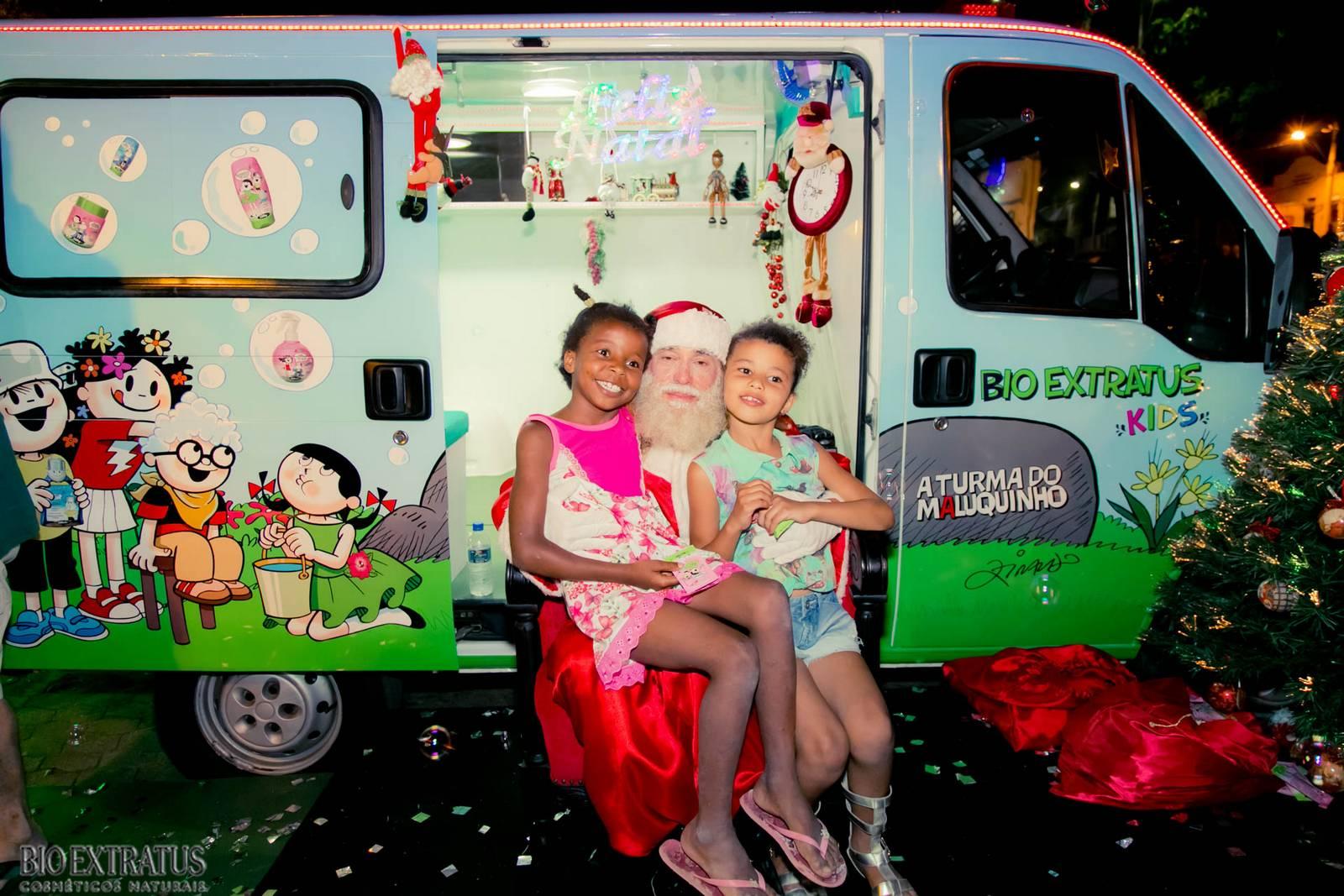 Papai Noel na Praça São Sebastião - 2015 - Alvinópolis (134)