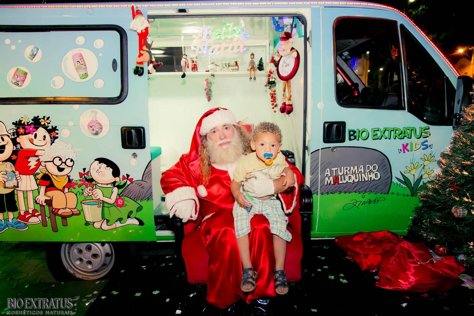 Papai Noel na Praça São Sebastião - 2015 - Alvinópolis (136)