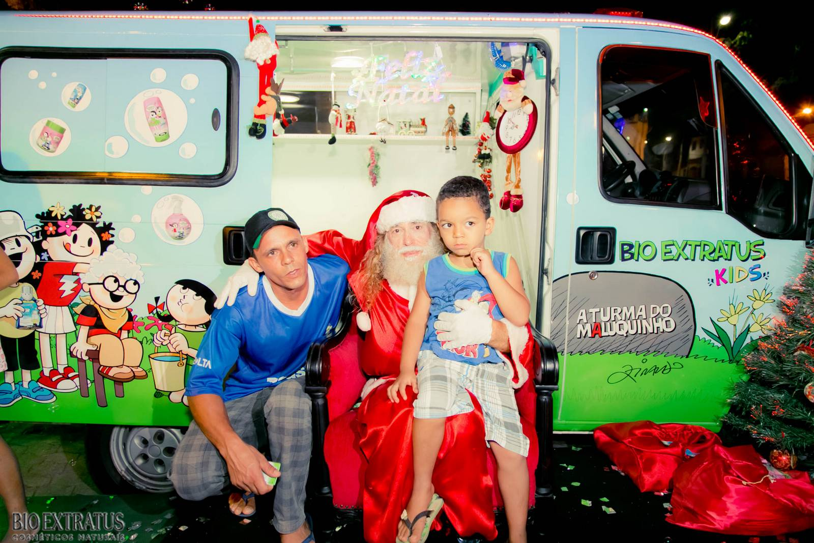 Papai Noel na Praça São Sebastião - 2015 - Alvinópolis (137)