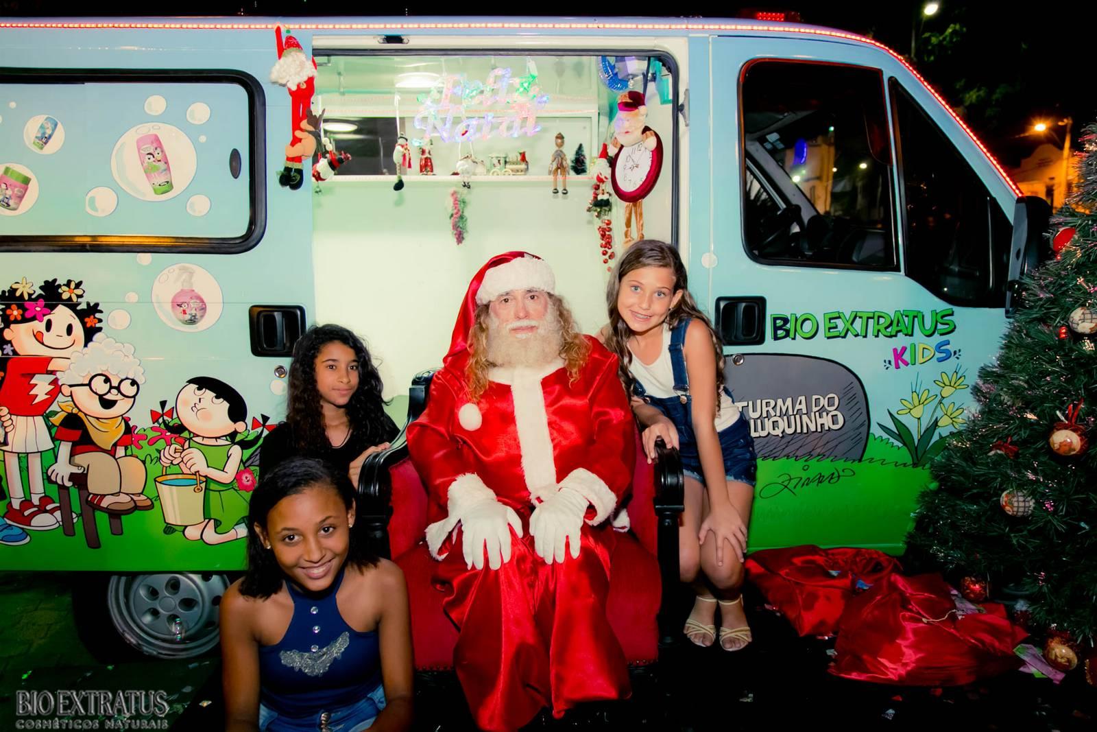 Papai Noel na Praça São Sebastião - 2015 - Alvinópolis (140)