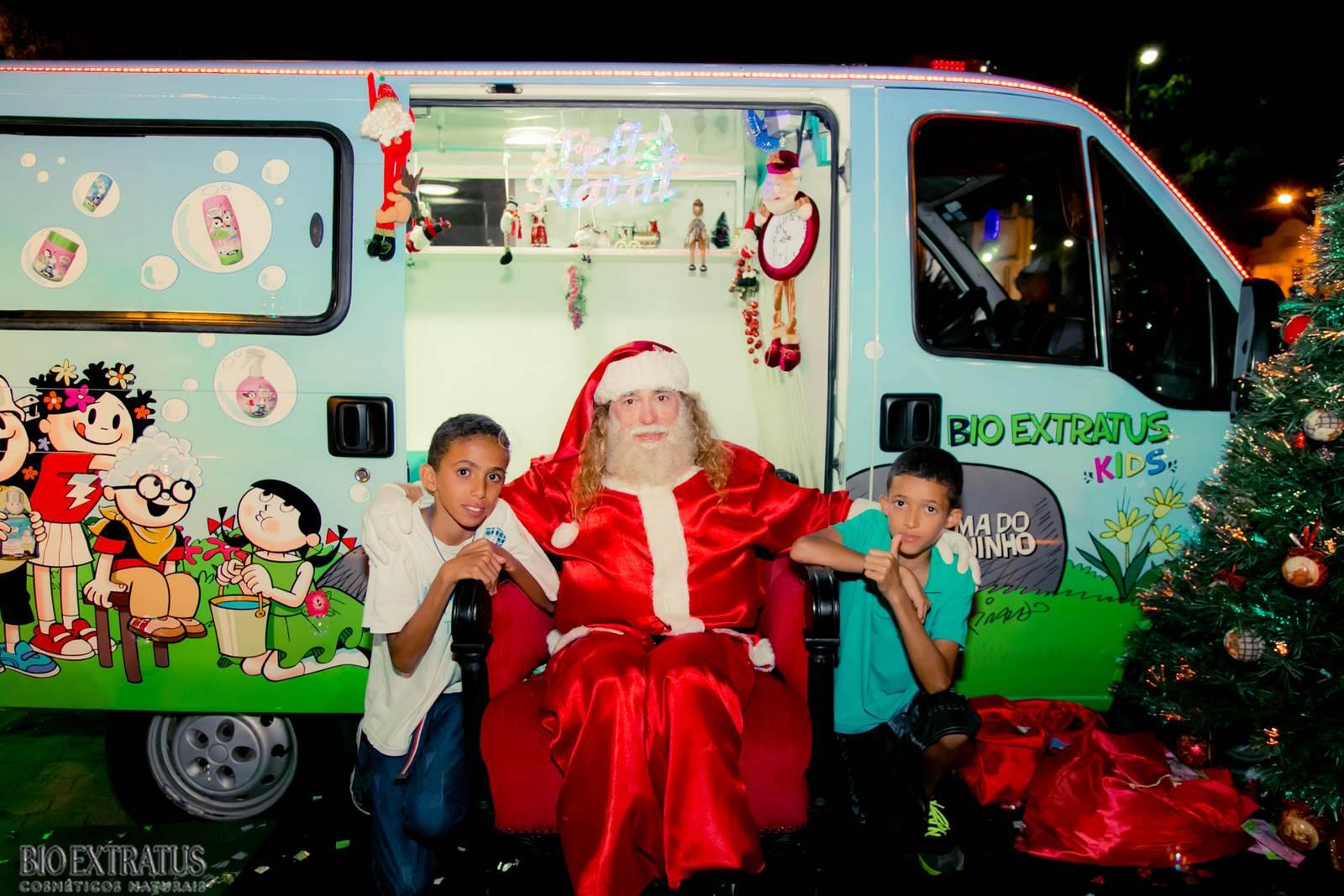 Papai Noel na Praça São Sebastião - 2015 - Alvinópolis (141)