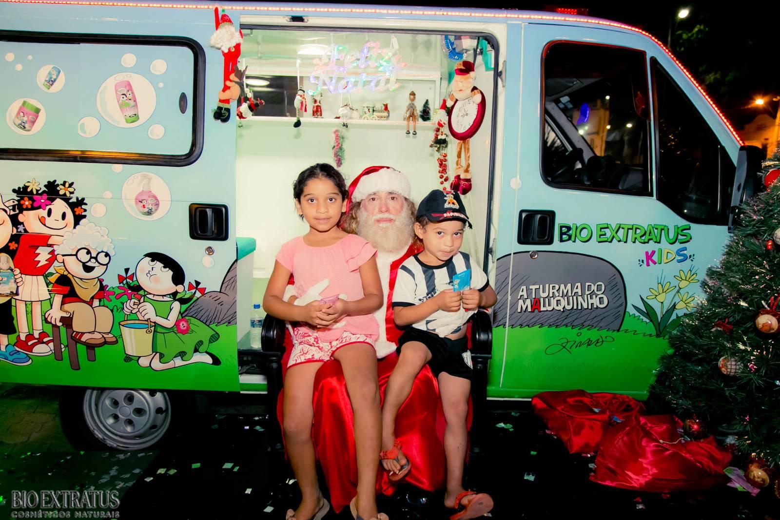 Papai Noel na Praça São Sebastião - 2015 - Alvinópolis (142)