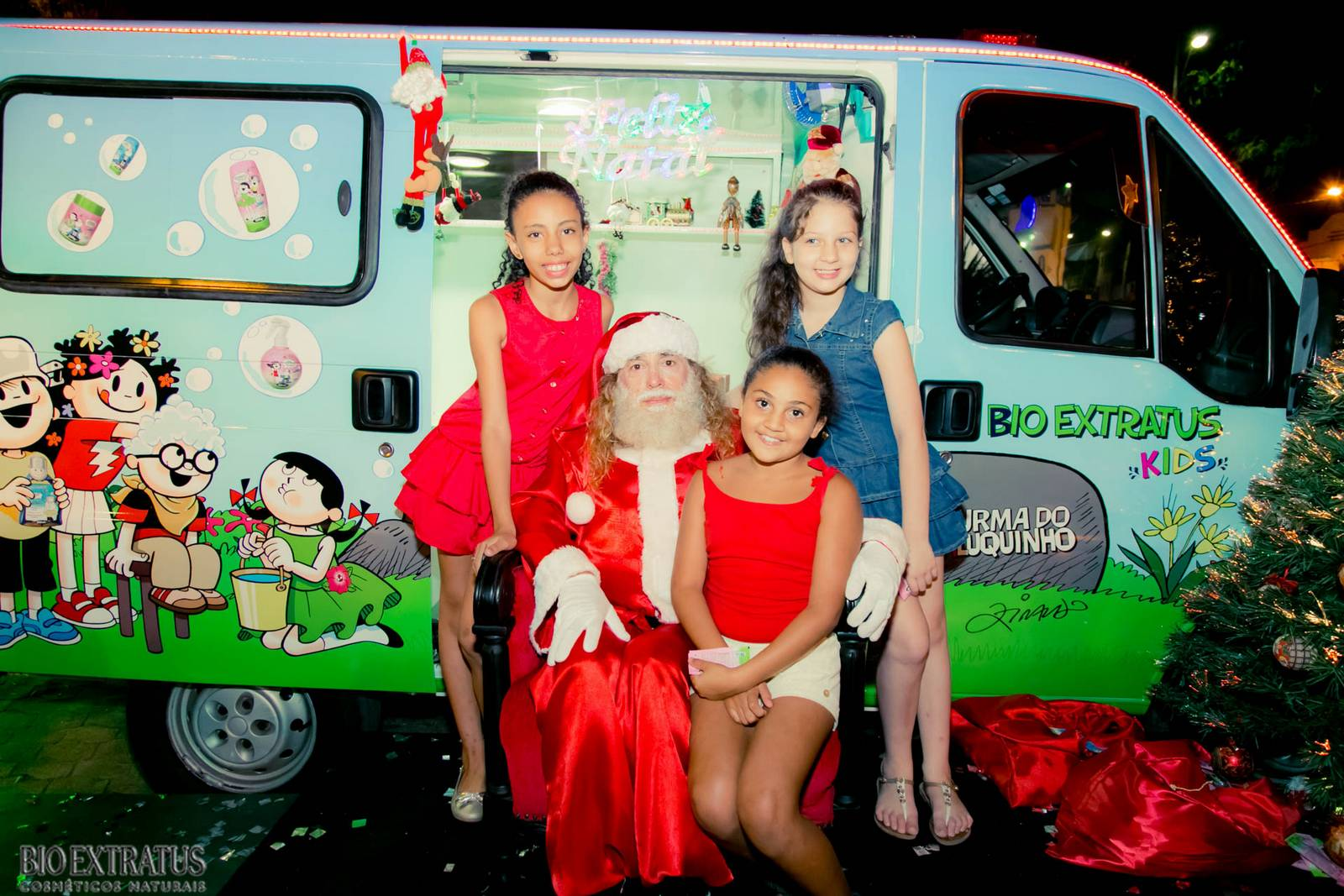 Papai Noel na Praça São Sebastião - 2015 - Alvinópolis (143)