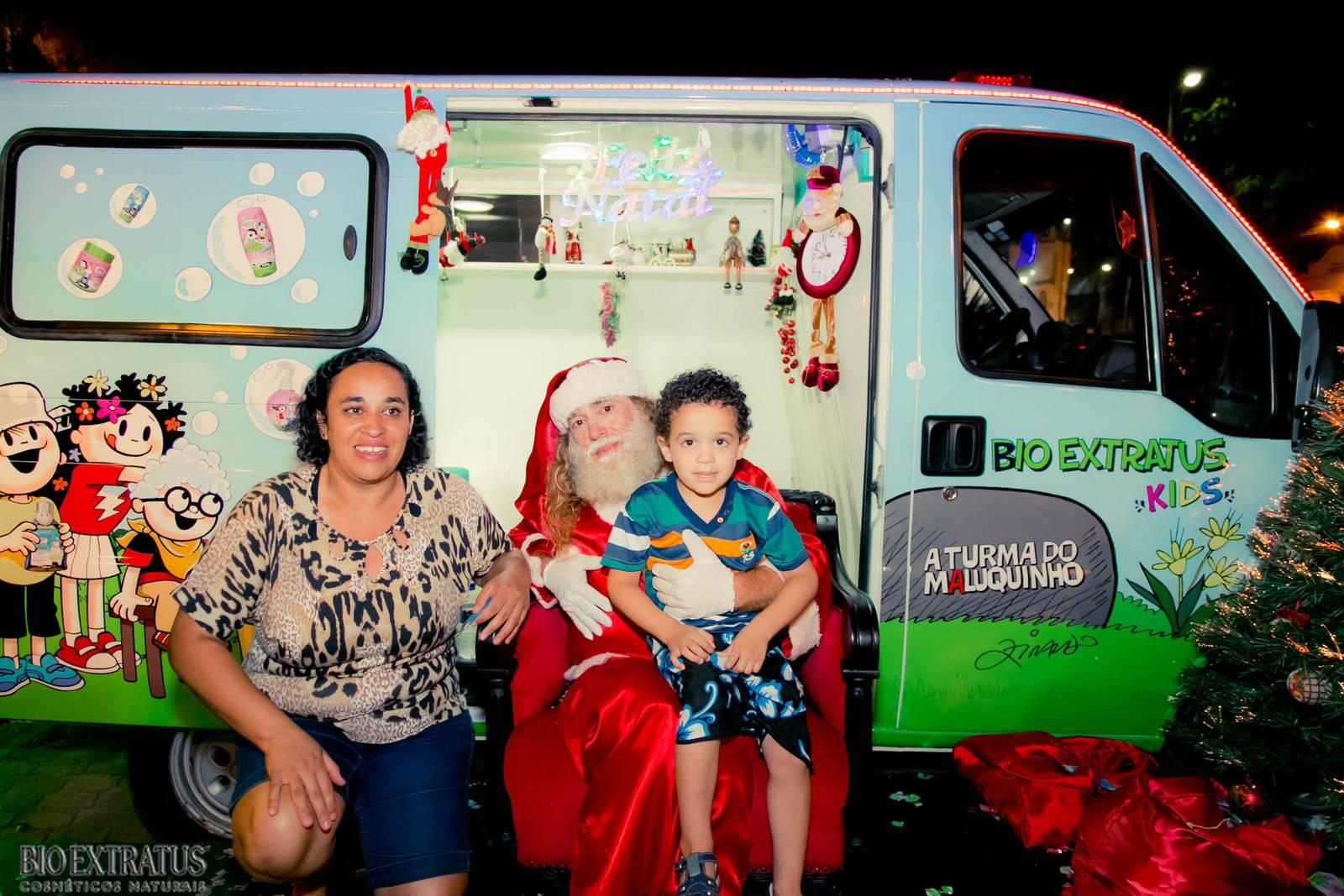 Papai Noel na Praça São Sebastião - 2015 - Alvinópolis (145)