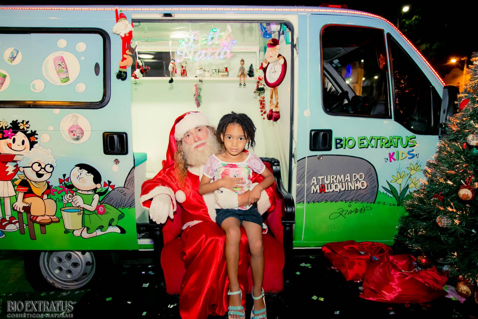 Papai Noel na Praça São Sebastião - 2015 - Alvinópolis (147)