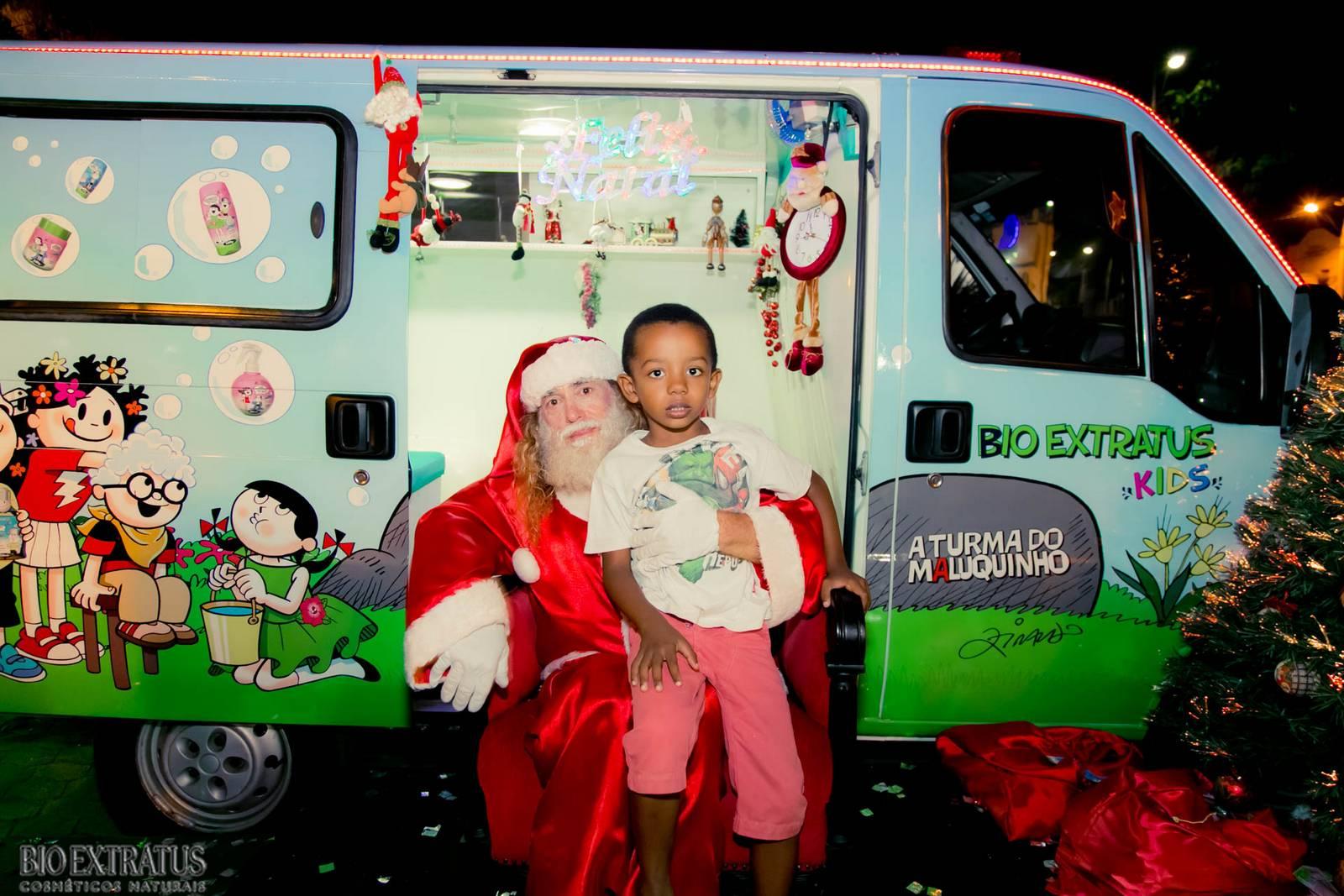 Papai Noel na Praça São Sebastião - 2015 - Alvinópolis (148)