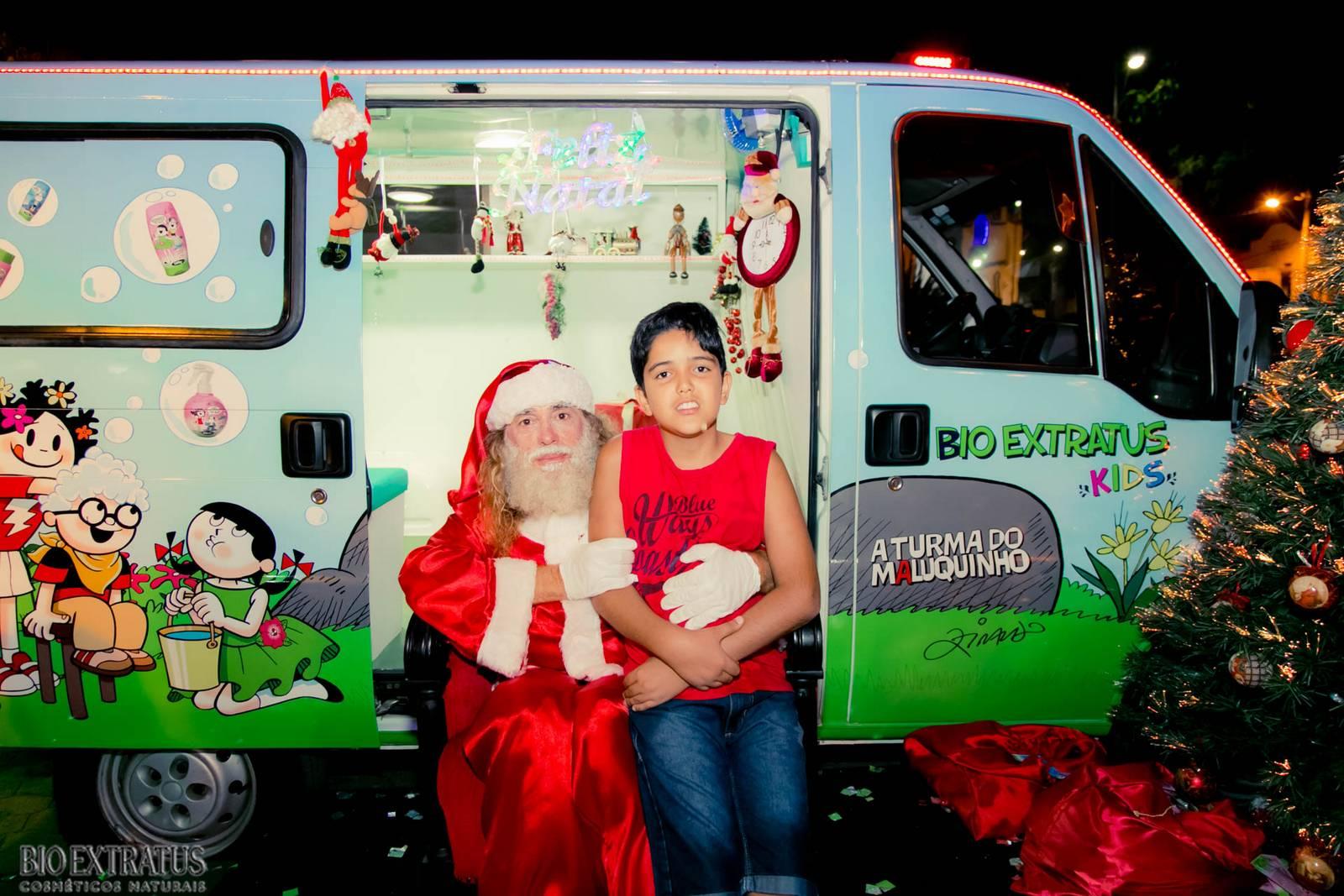 Papai Noel na Praça São Sebastião - 2015 - Alvinópolis (150)