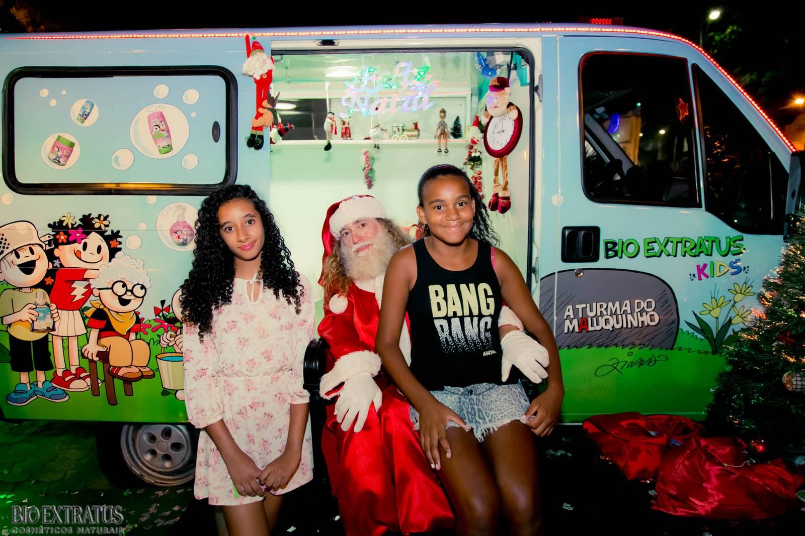 Papai Noel na Praça São Sebastião - 2015 - Alvinópolis (151)