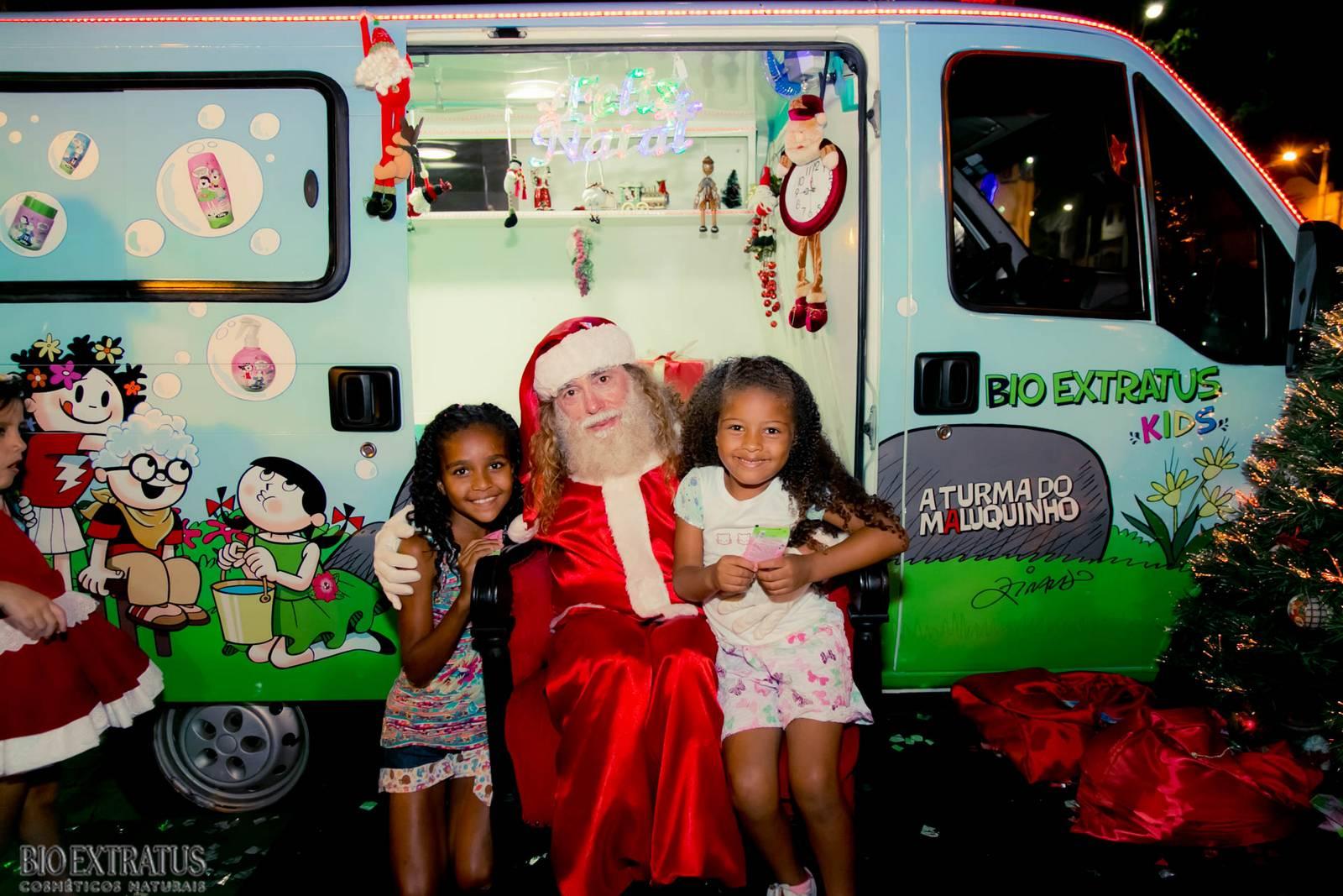 Papai Noel na Praça São Sebastião - 2015 - Alvinópolis (152)