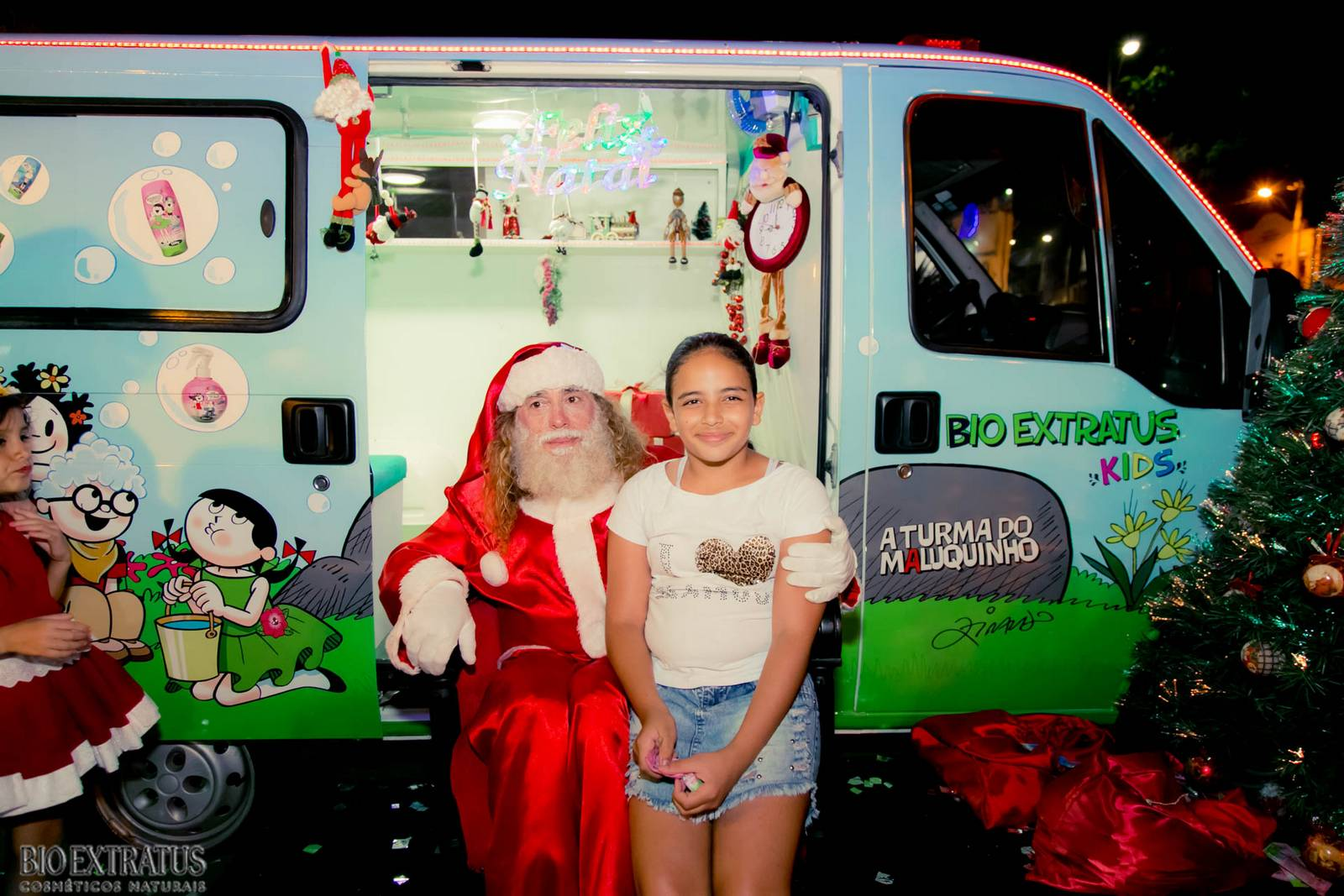 Papai Noel na Praça São Sebastião - 2015 - Alvinópolis (153)