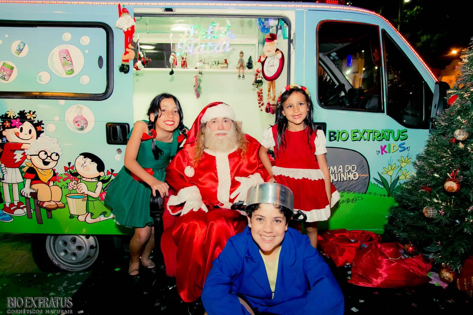 Papai Noel na Praça São Sebastião - 2015 - Alvinópolis (155)