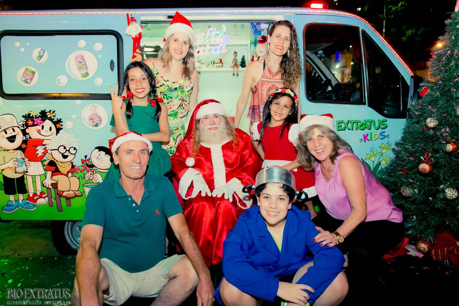 Papai Noel na Praça São Sebastião - 2015 - Alvinópolis (156)