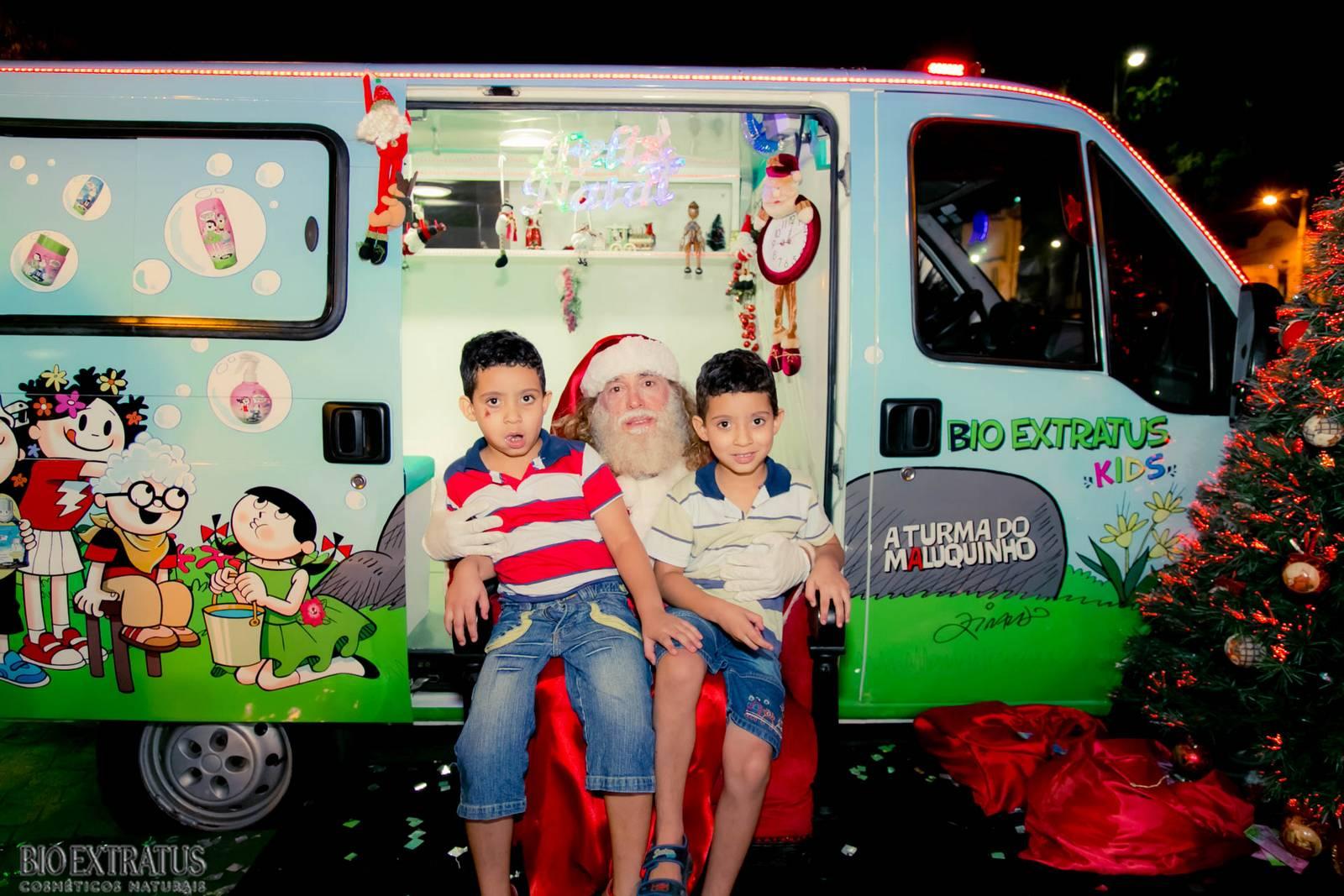 Papai Noel na Praça São Sebastião - 2015 - Alvinópolis (158)