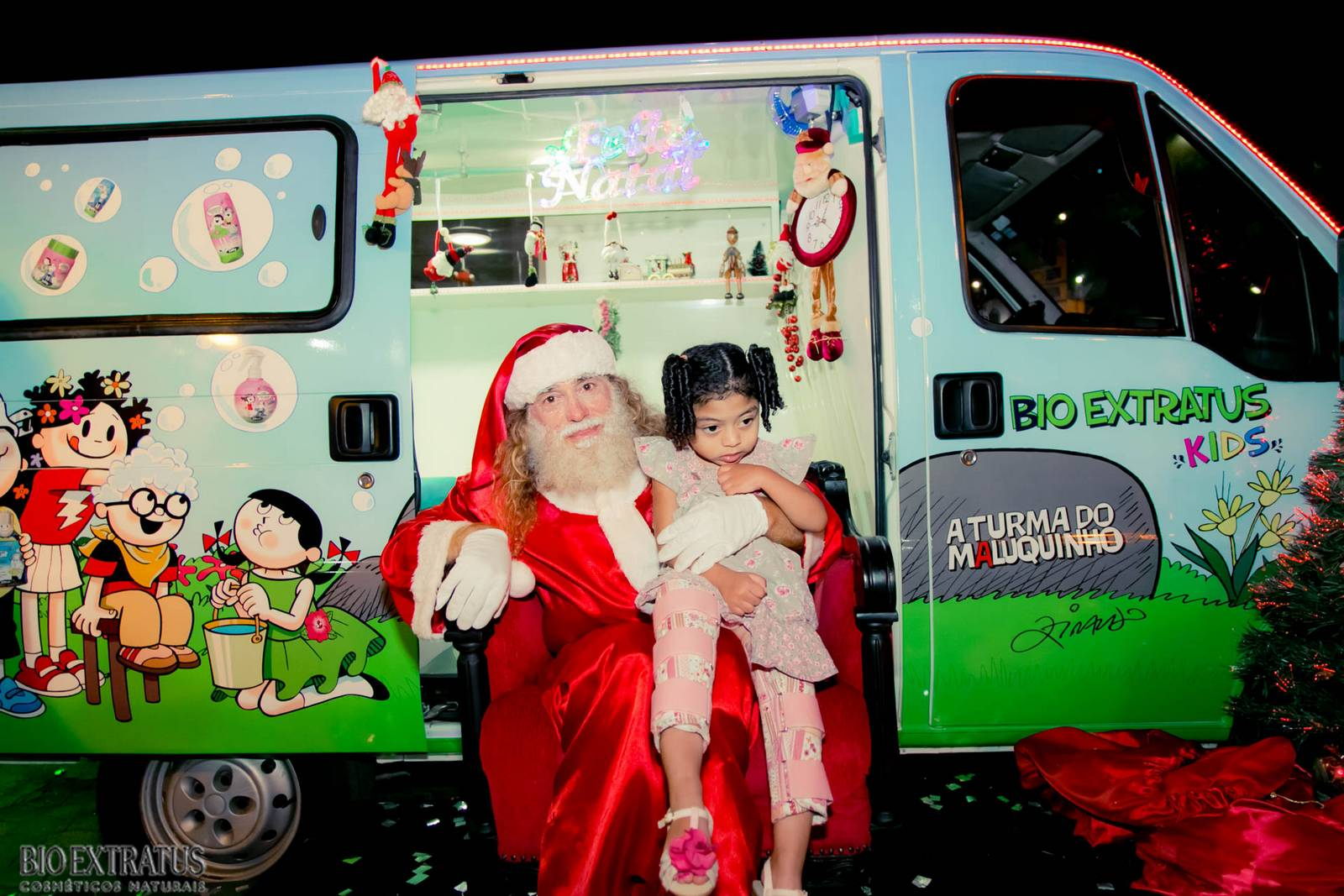 Papai Noel na Praça São Sebastião - 2015 - Alvinópolis (160)