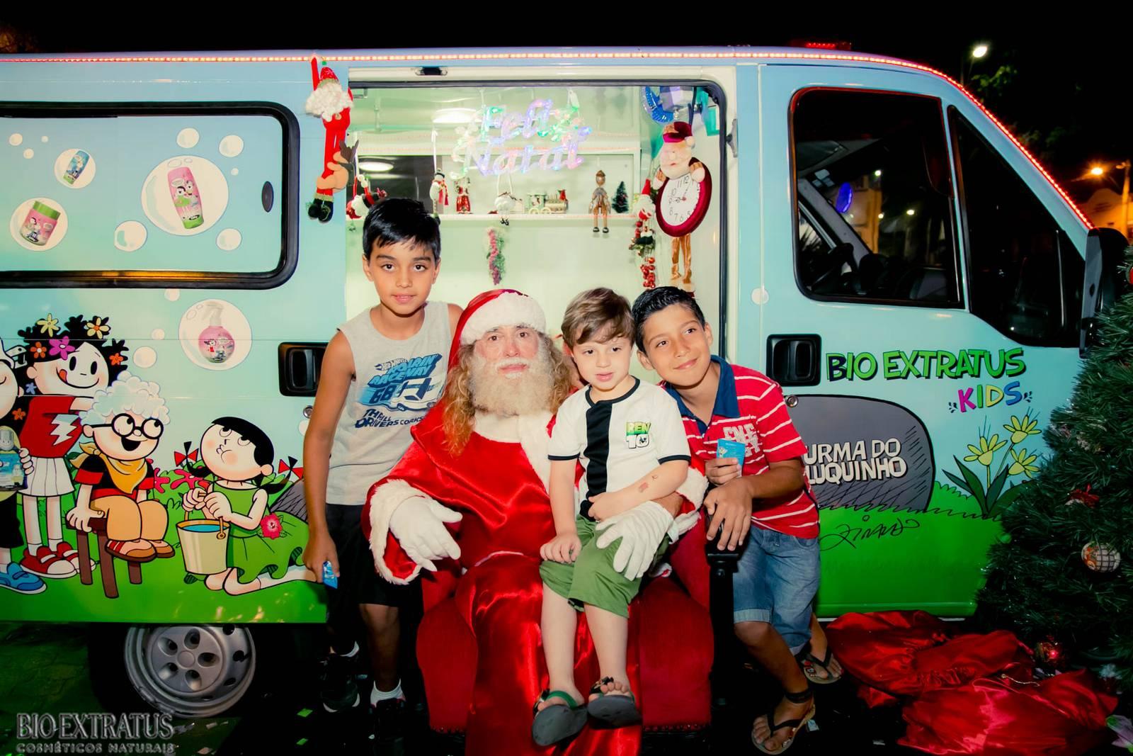 Papai Noel na Praça São Sebastião - 2015 - Alvinópolis (162)