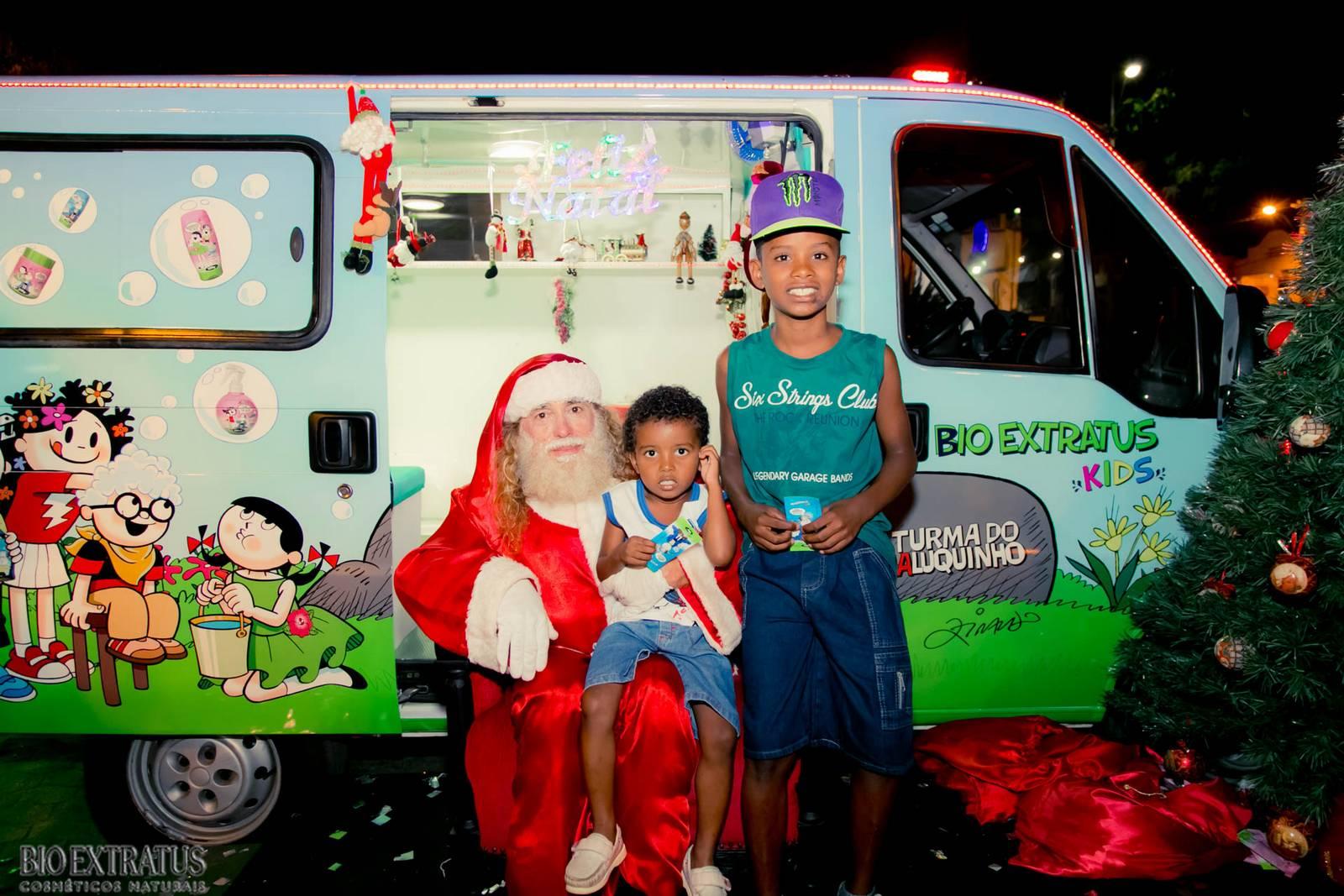 Papai Noel na Praça São Sebastião - 2015 - Alvinópolis (169)