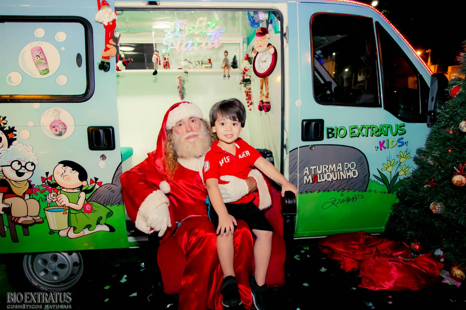 Papai Noel na Praça São Sebastião - 2015 - Alvinópolis (171)