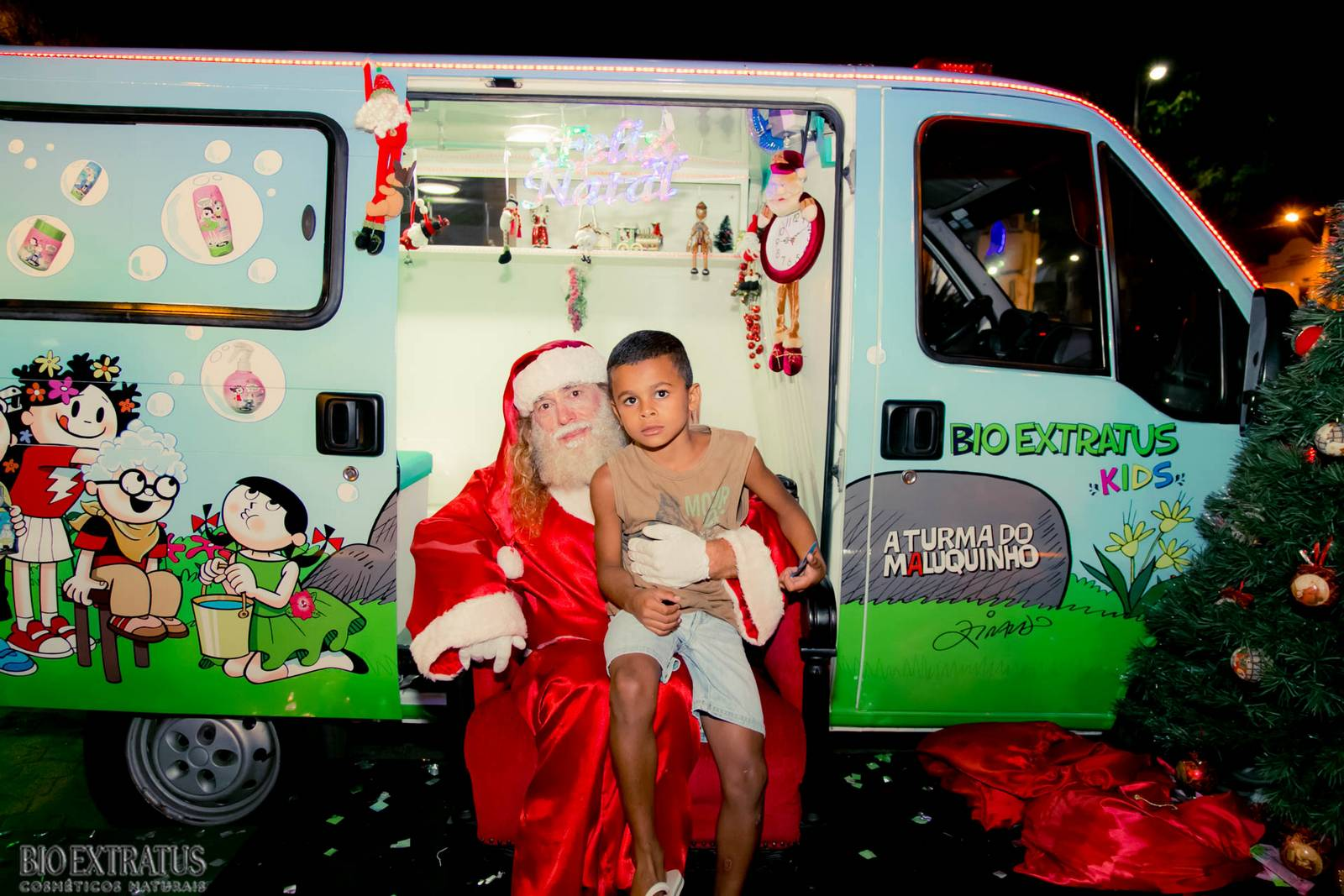 Papai Noel na Praça São Sebastião - 2015 - Alvinópolis (174)