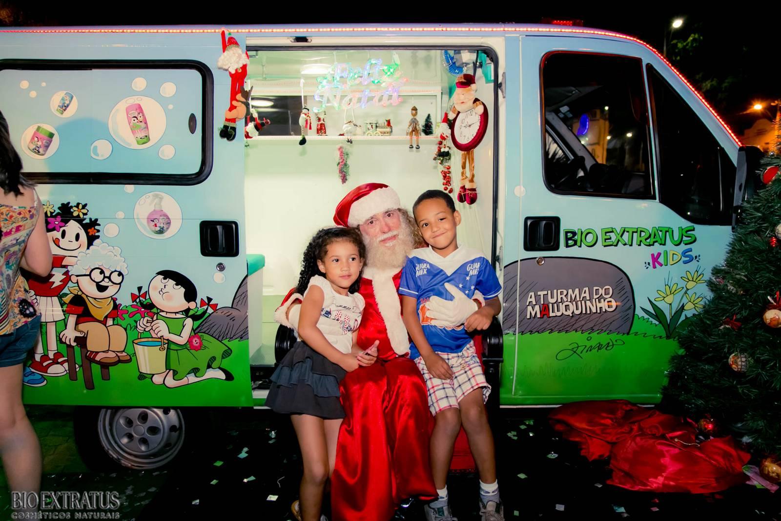 Papai Noel na Praça São Sebastião - 2015 - Alvinópolis (179)