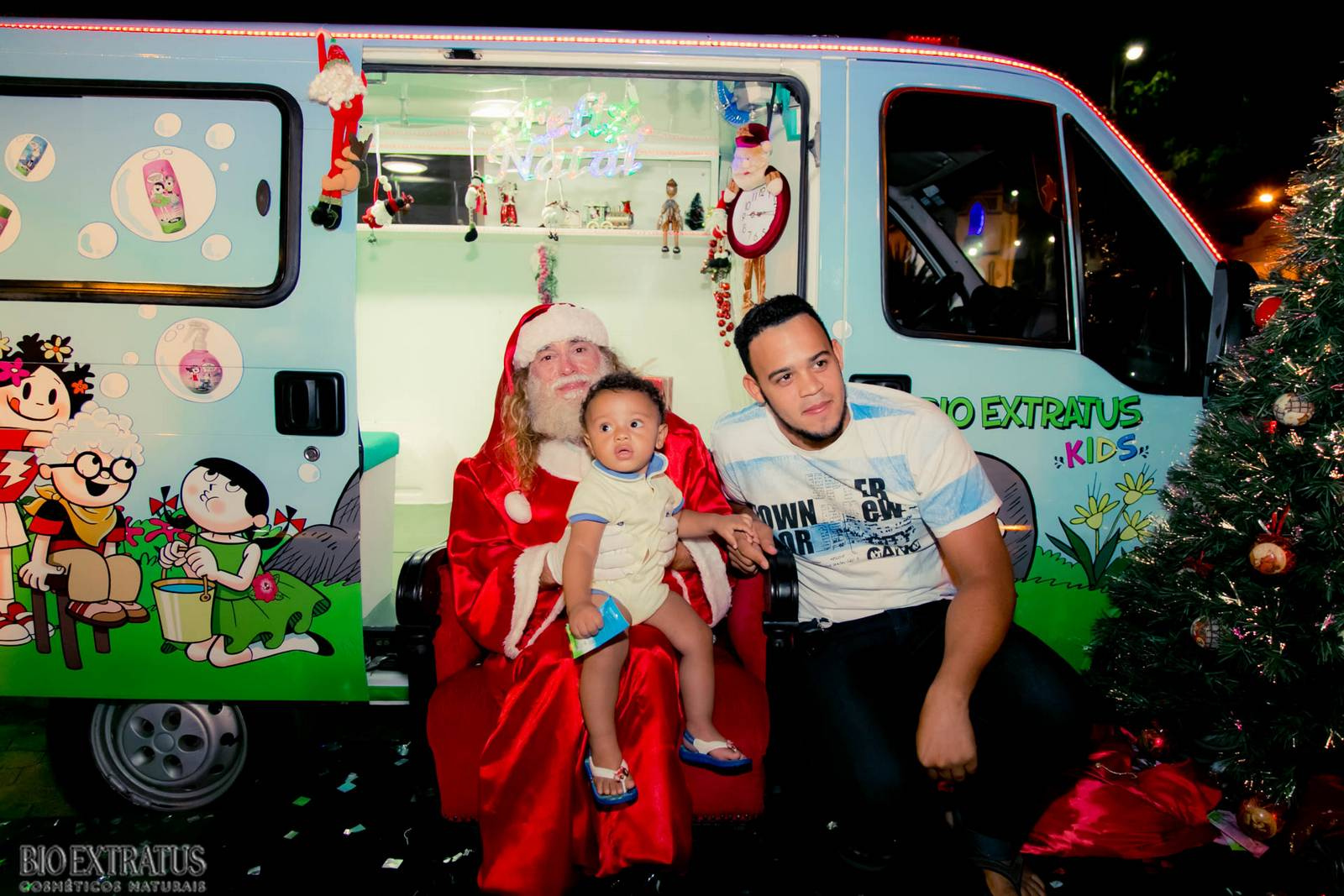Papai Noel na Praça São Sebastião - 2015 - Alvinópolis (181)