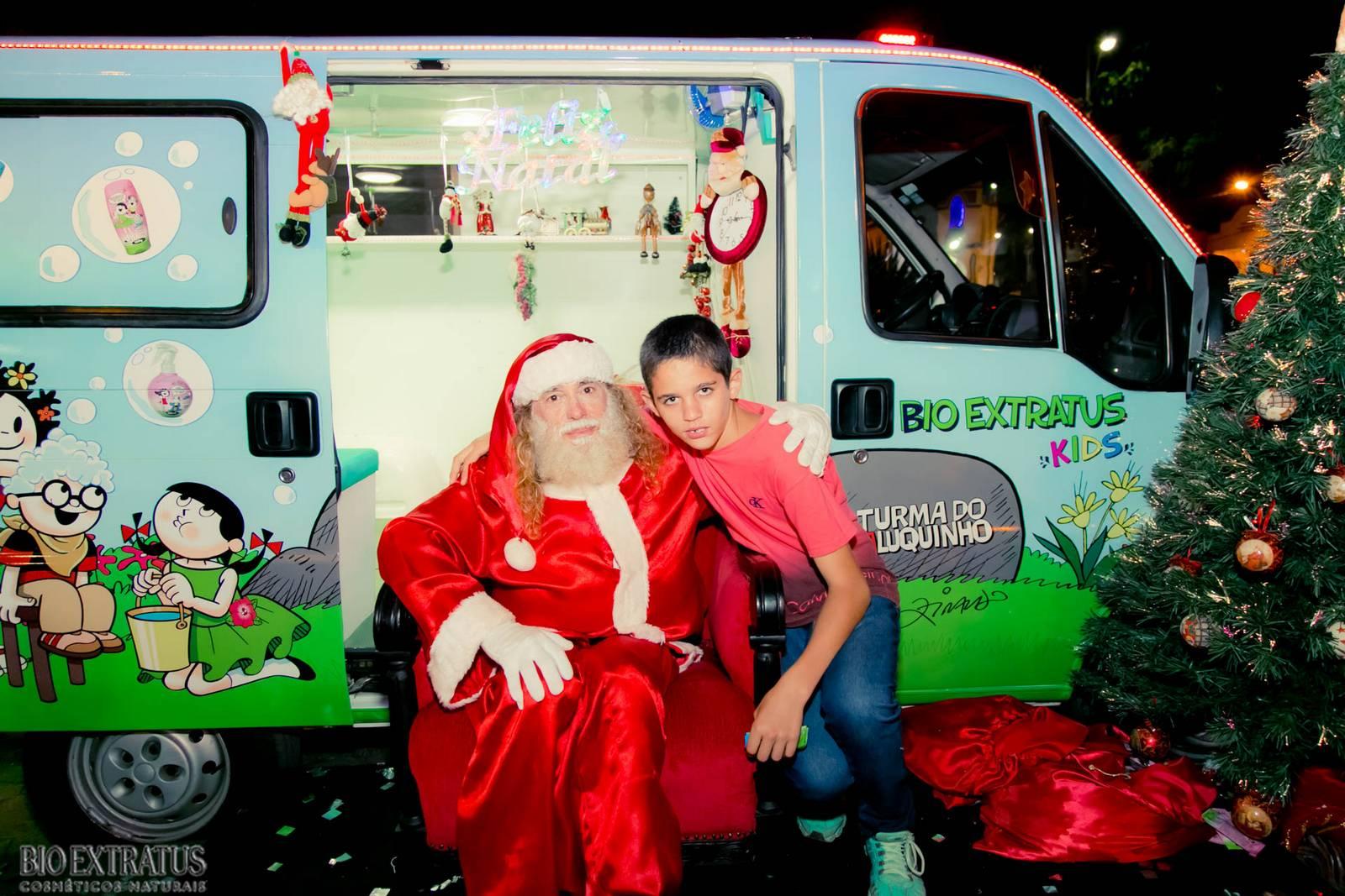 Papai Noel na Praça São Sebastião - 2015 - Alvinópolis (182)