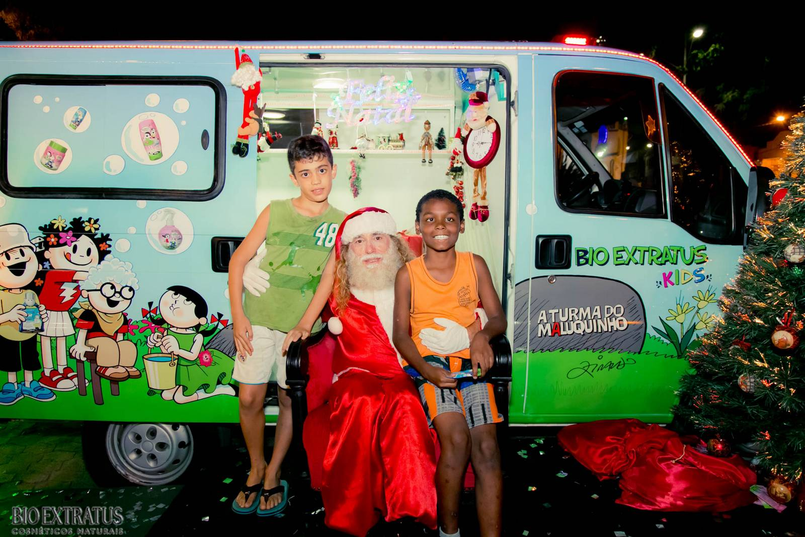 Papai Noel na Praça São Sebastião - 2015 - Alvinópolis (183)