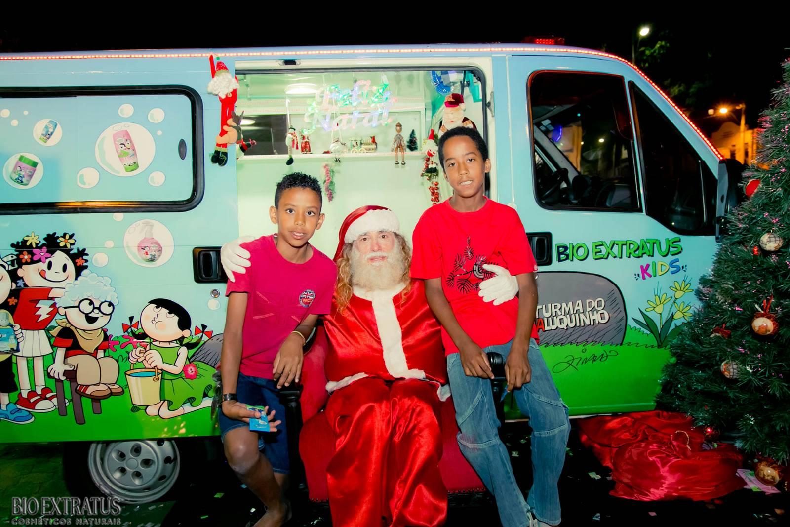 Papai Noel na Praça São Sebastião - 2015 - Alvinópolis (195)