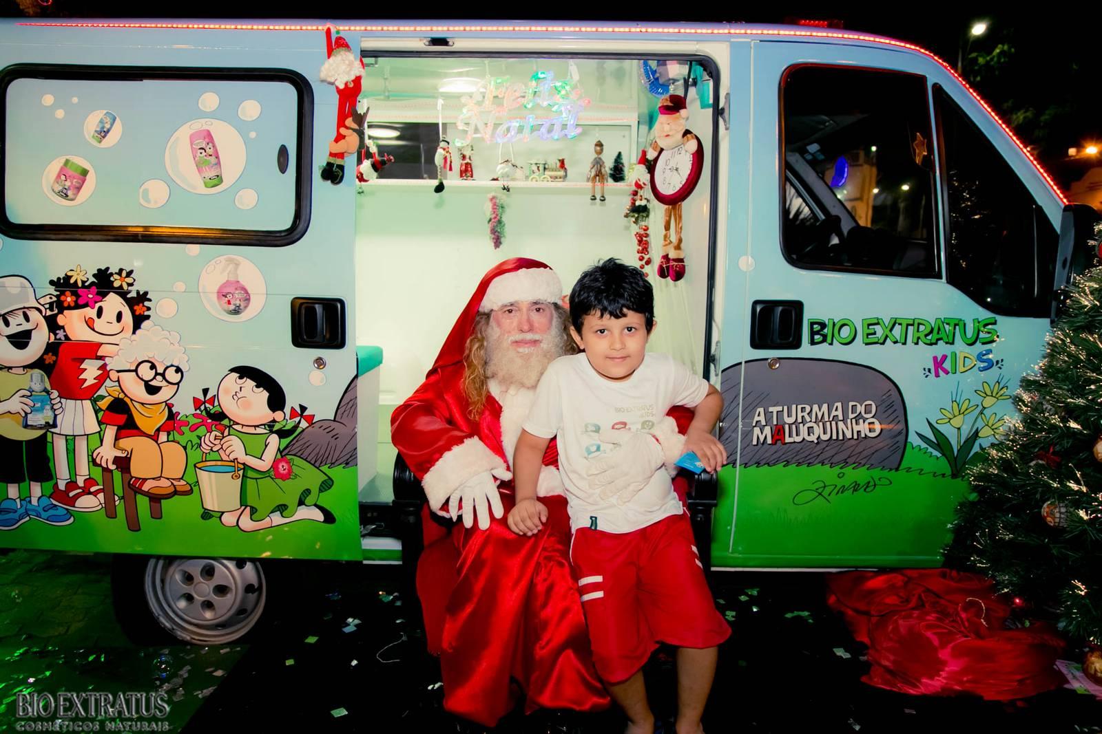 Papai Noel na Praça São Sebastião - 2015 - Alvinópolis (198)