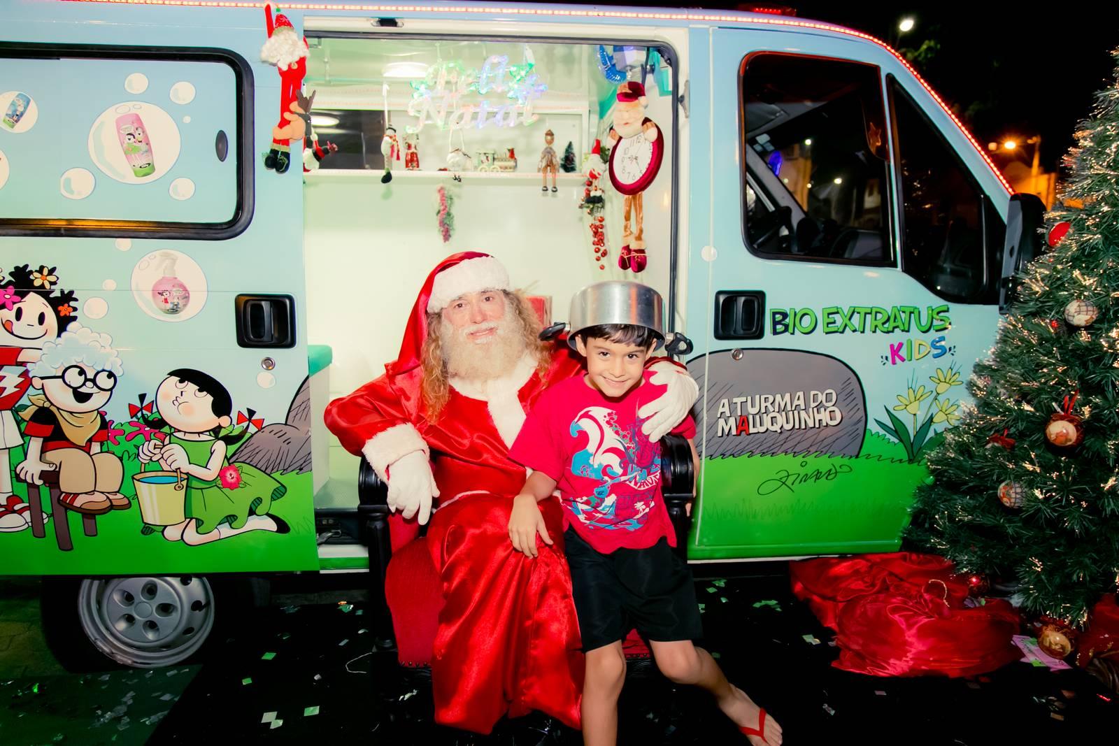 Papai Noel na Praça São Sebastião - 2015 - Alvinópolis (203)