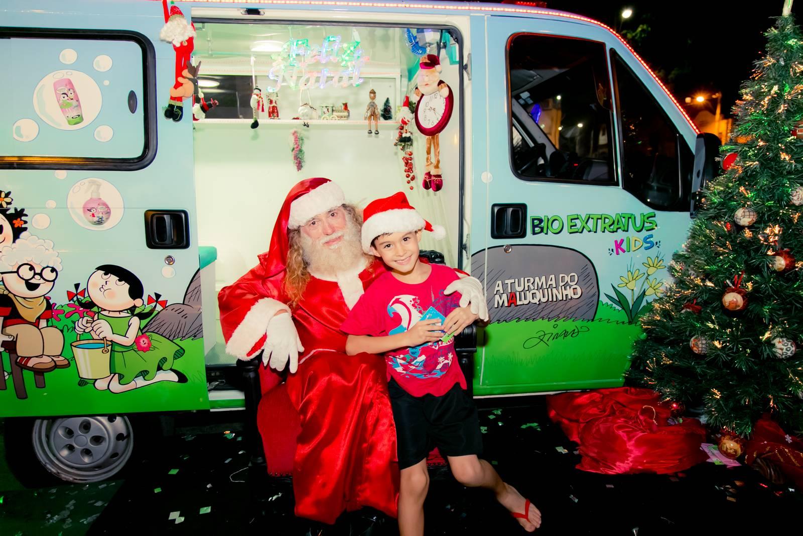 Papai Noel na Praça São Sebastião - 2015 - Alvinópolis (205)